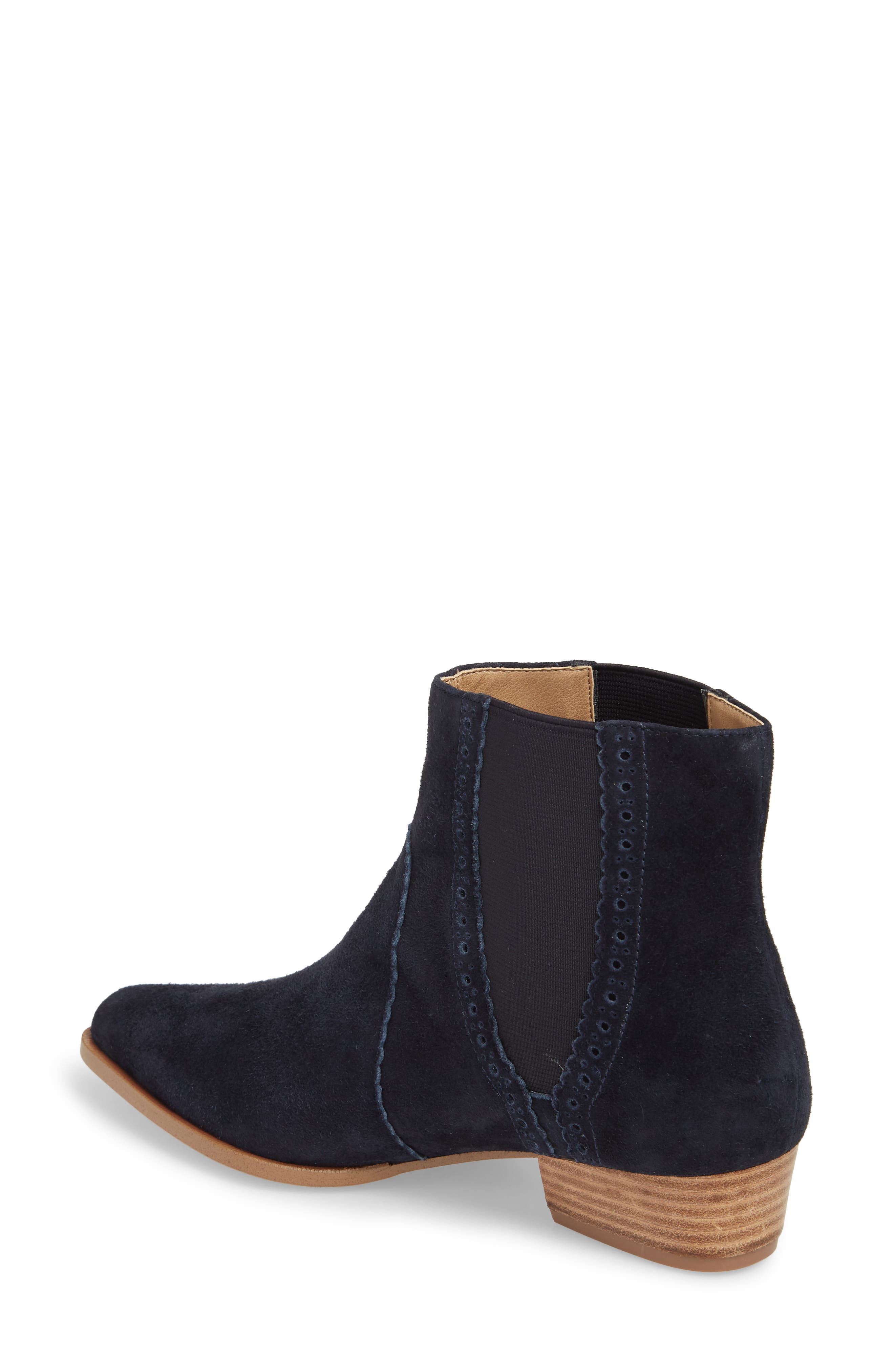 Mica Chelsea Bootie,                             Alternate thumbnail 2, color,                             SPACE CADET SUEDE