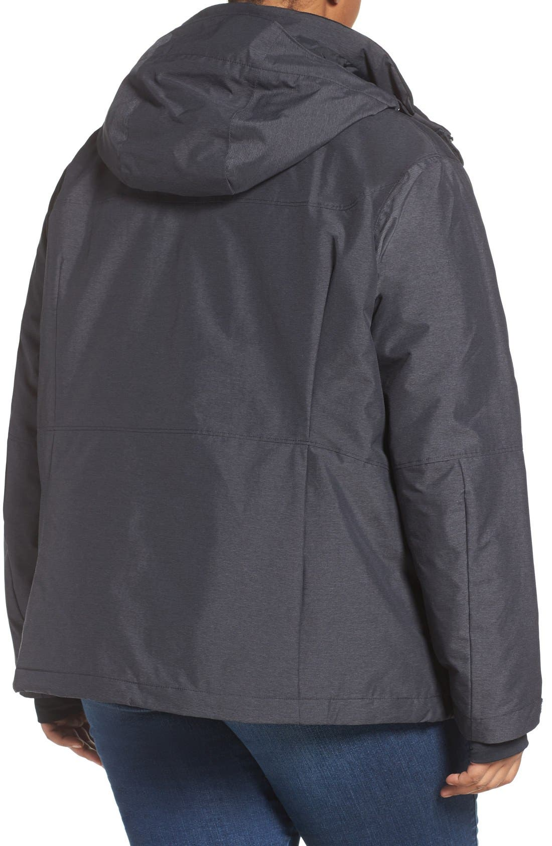 Alpine Action Waterproof Omni-Heat<sup>®</sup> Hooded Jacket,                             Alternate thumbnail 11, color,