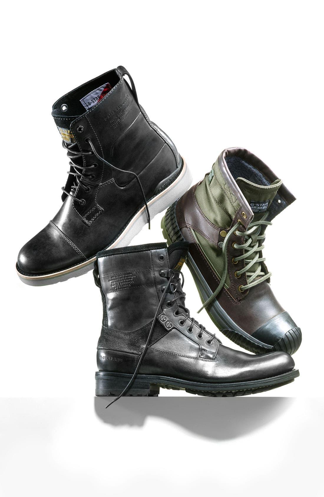 'Patton III Marker' Boot,                             Alternate thumbnail 5, color,                             001