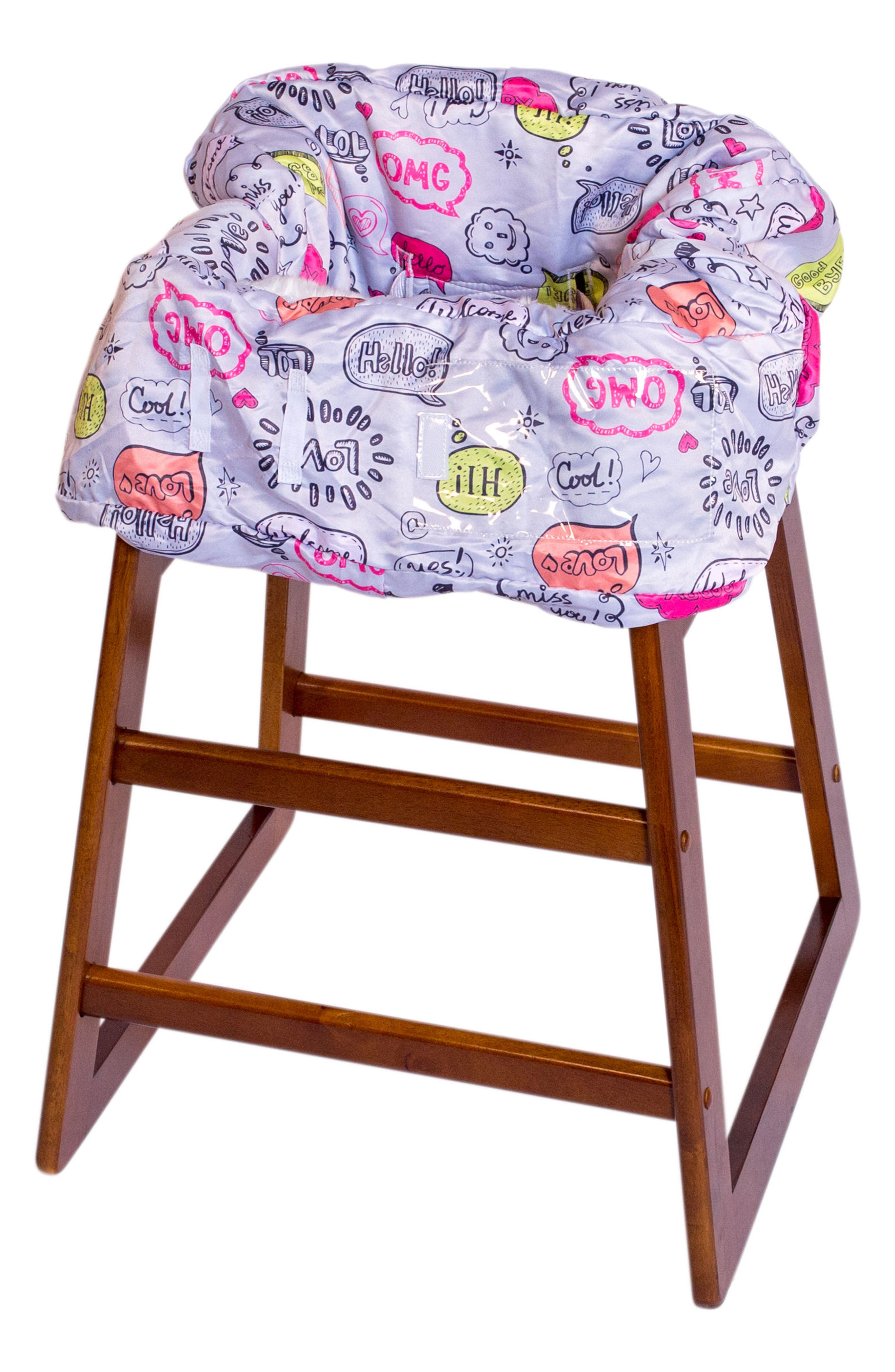 Highchair/Shopping Cart Cover,                             Alternate thumbnail 3, color,                             020