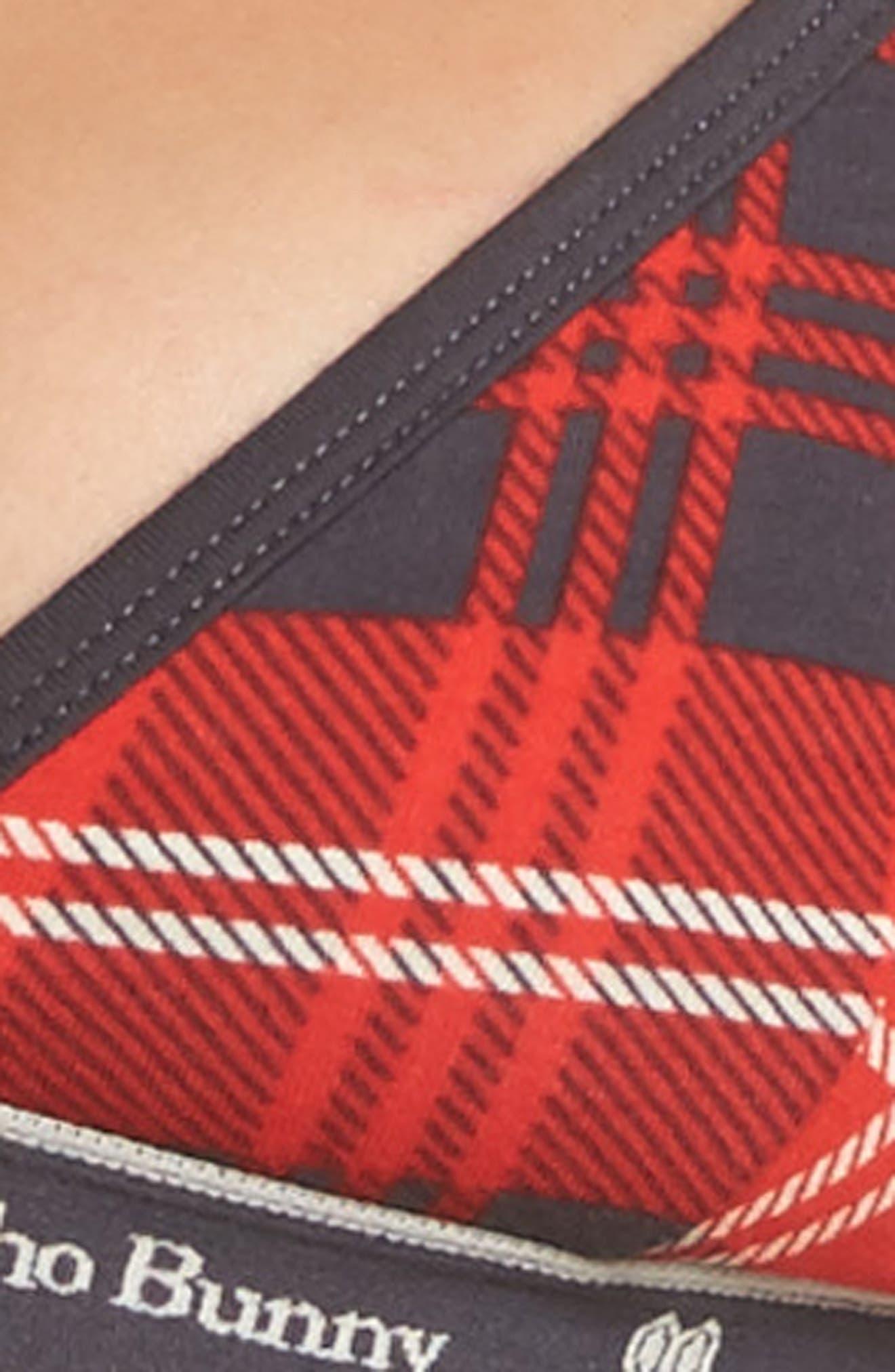 Logo Triangle Bralette,                             Alternate thumbnail 42, color,