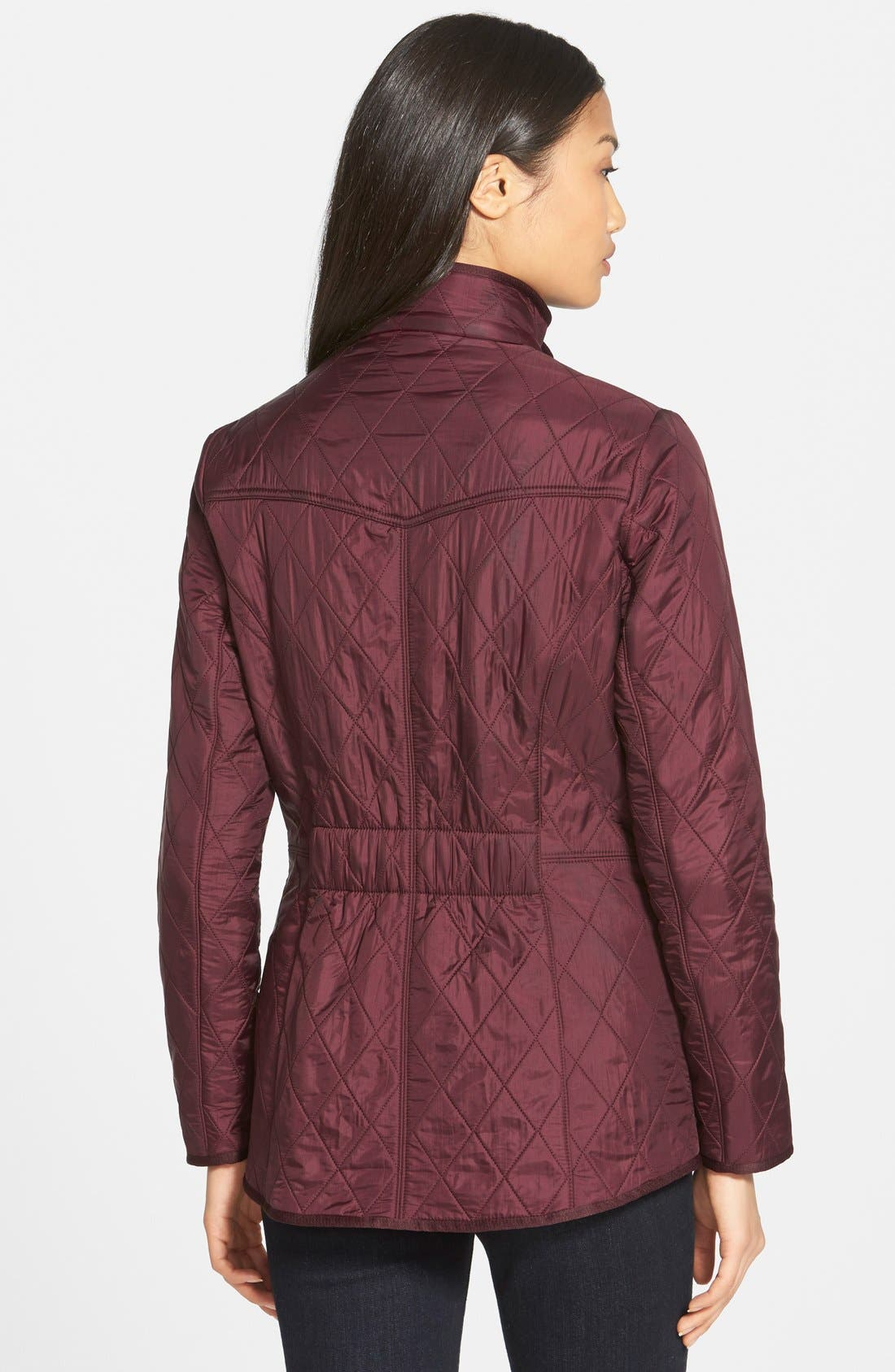 'Cavalry' Quilted Jacket,                             Alternate thumbnail 25, color,
