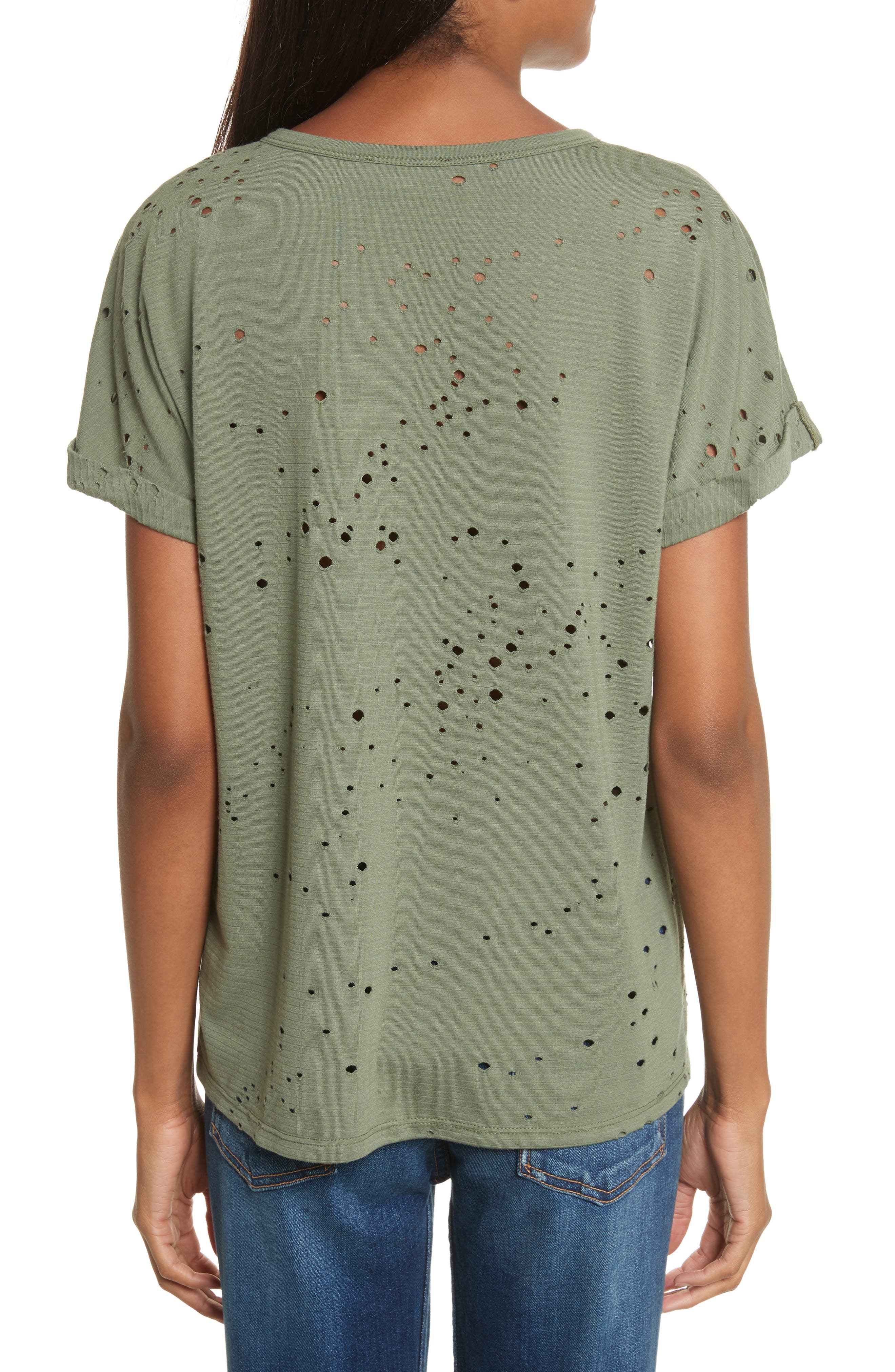 Waverly Perforated Tee,                             Alternate thumbnail 2, color,                             310