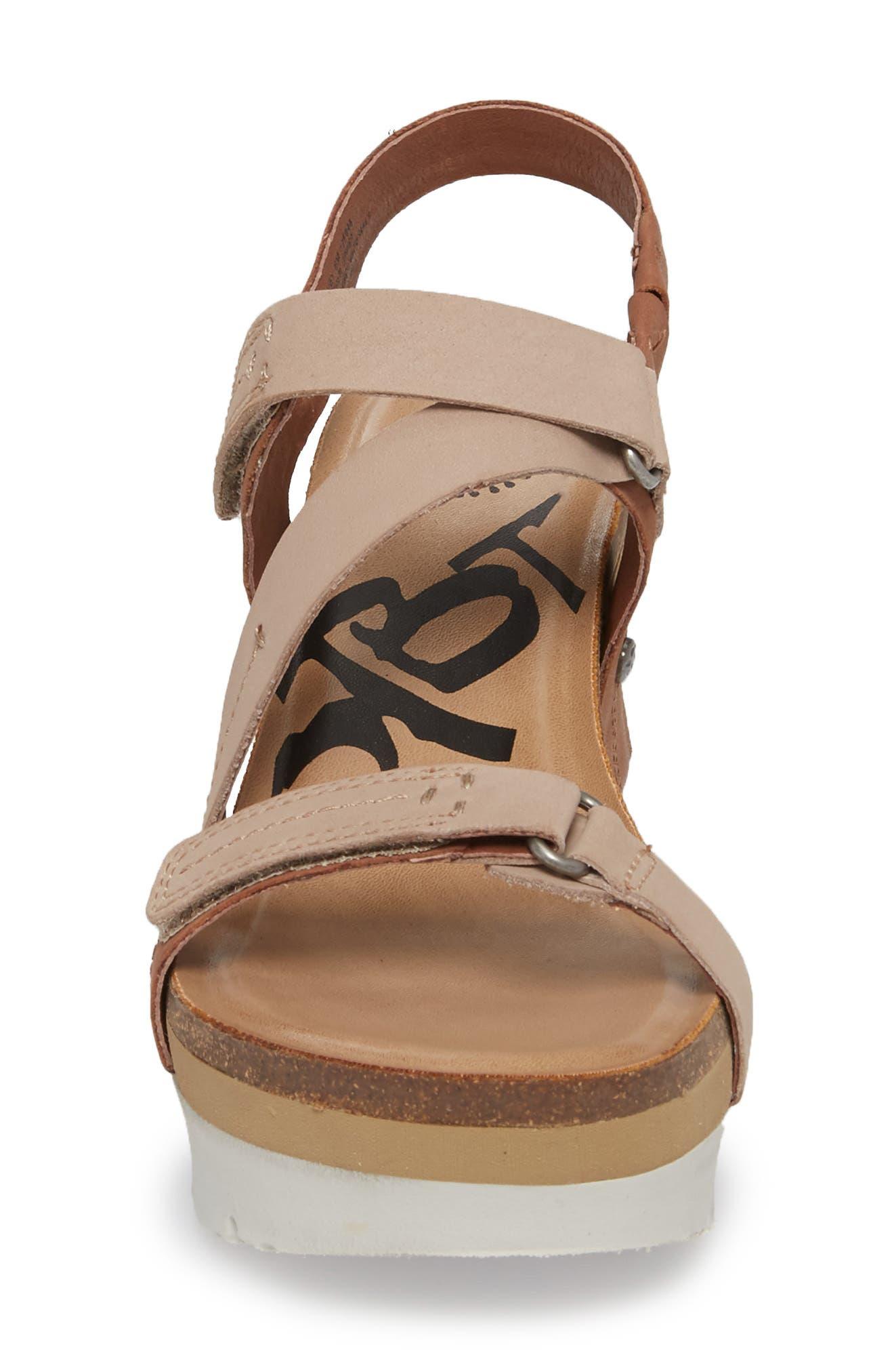 Wavey Wedge Sandal,                             Alternate thumbnail 4, color,                             214