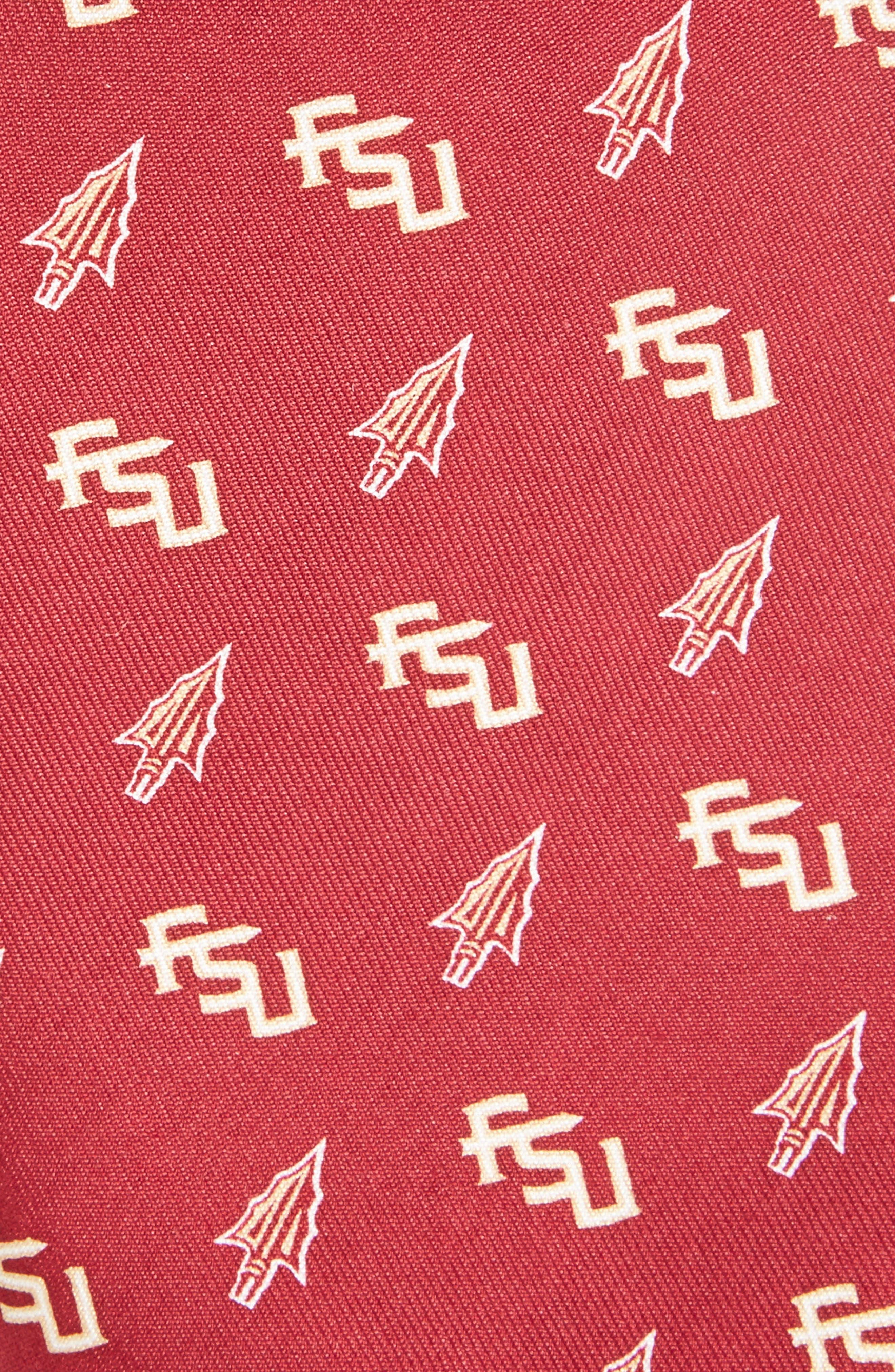 Florida State University Silk Tie,                             Alternate thumbnail 2, color,                             646