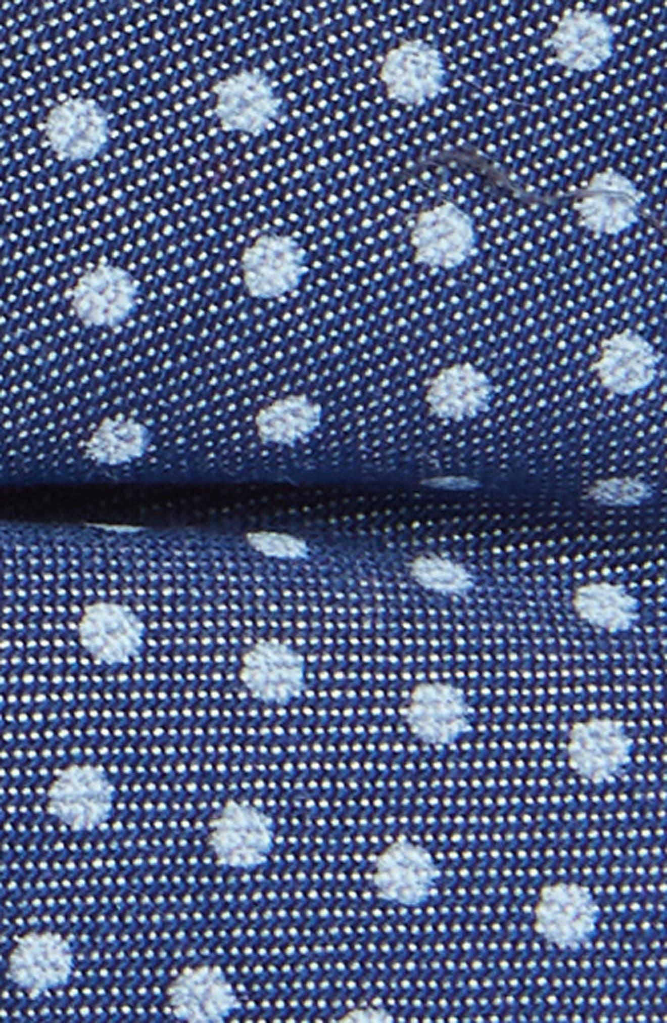 Chambray Dot Silk Bow Tie,                             Alternate thumbnail 2, color,                             400