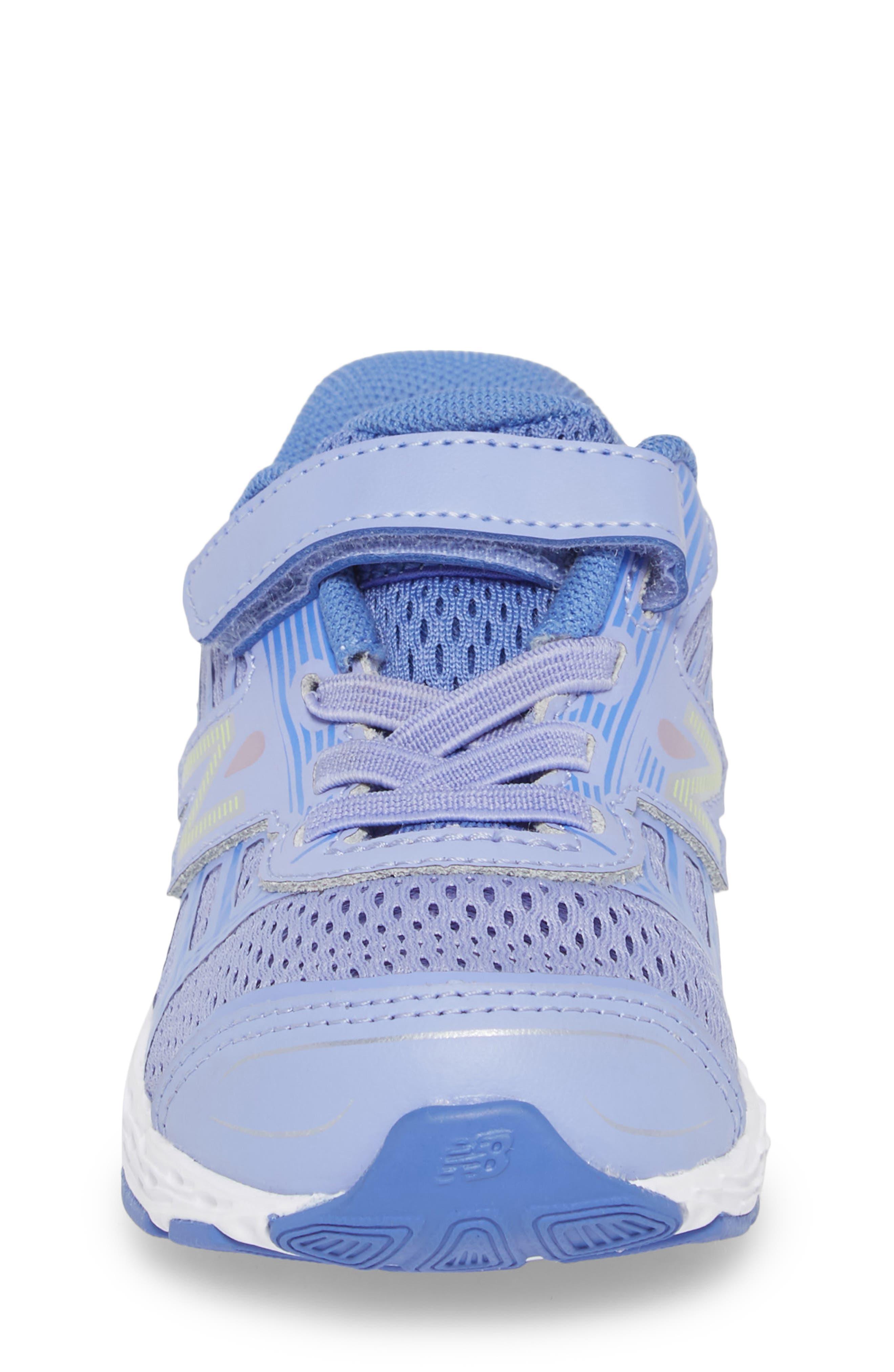 680v5 Sneaker,                             Alternate thumbnail 4, color,                             ICE VIOLET