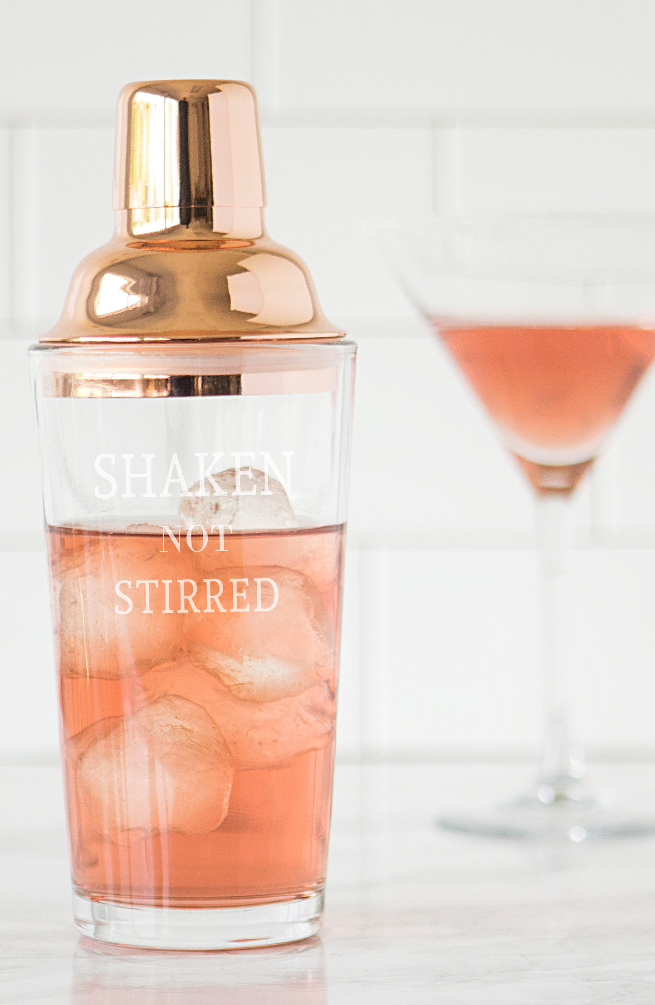 Shaken Not Stirred Cocktail Shaker,                             Alternate thumbnail 22, color,