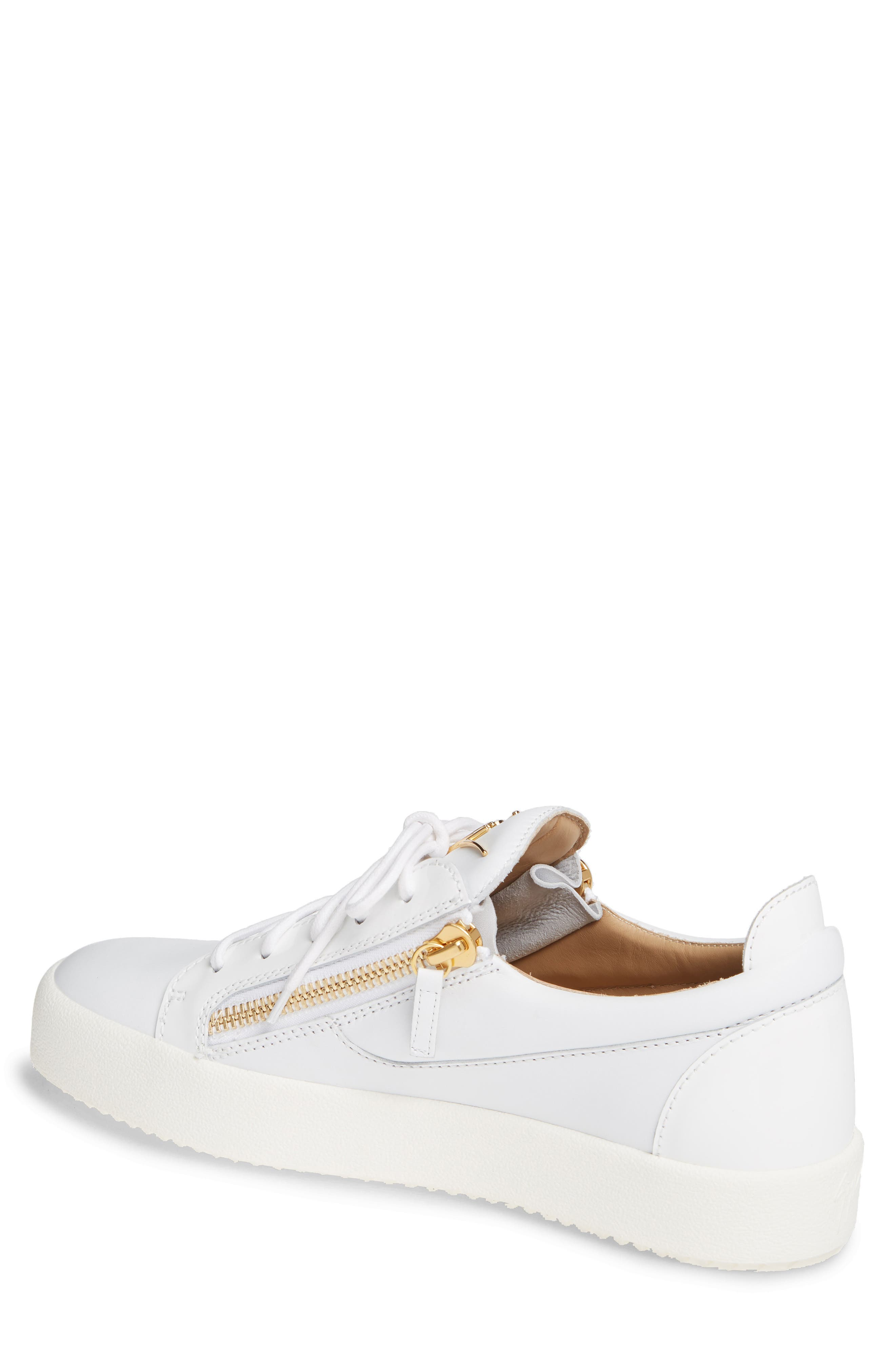 Low Top Sneaker,                             Alternate thumbnail 2, color,                             WHITE