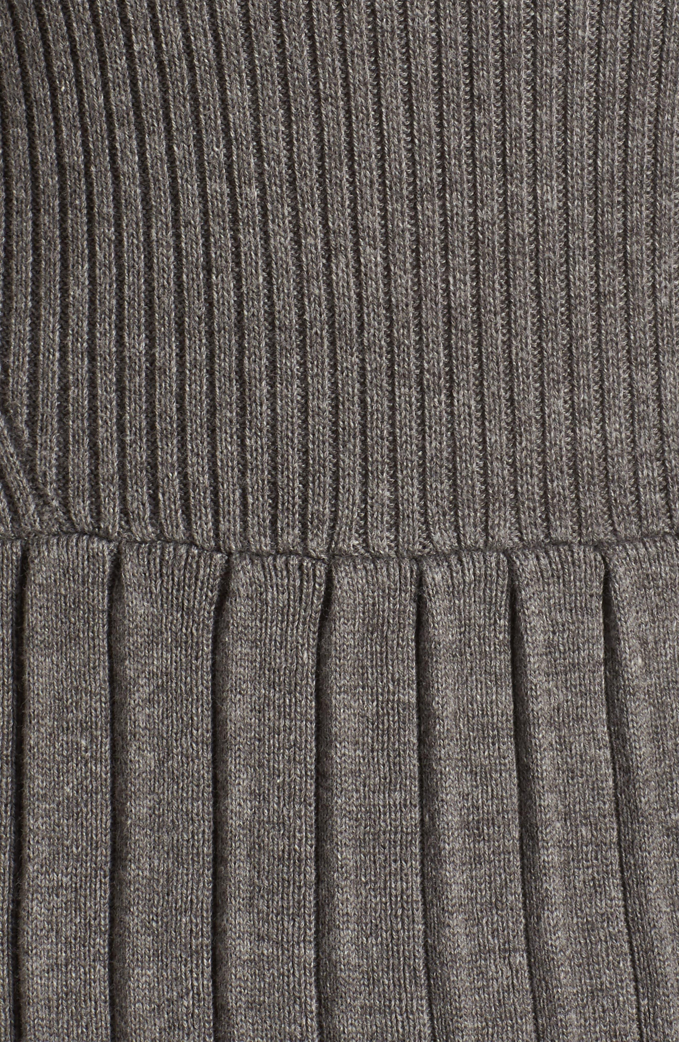Turtleneck Dress,                             Alternate thumbnail 5, color,                             096