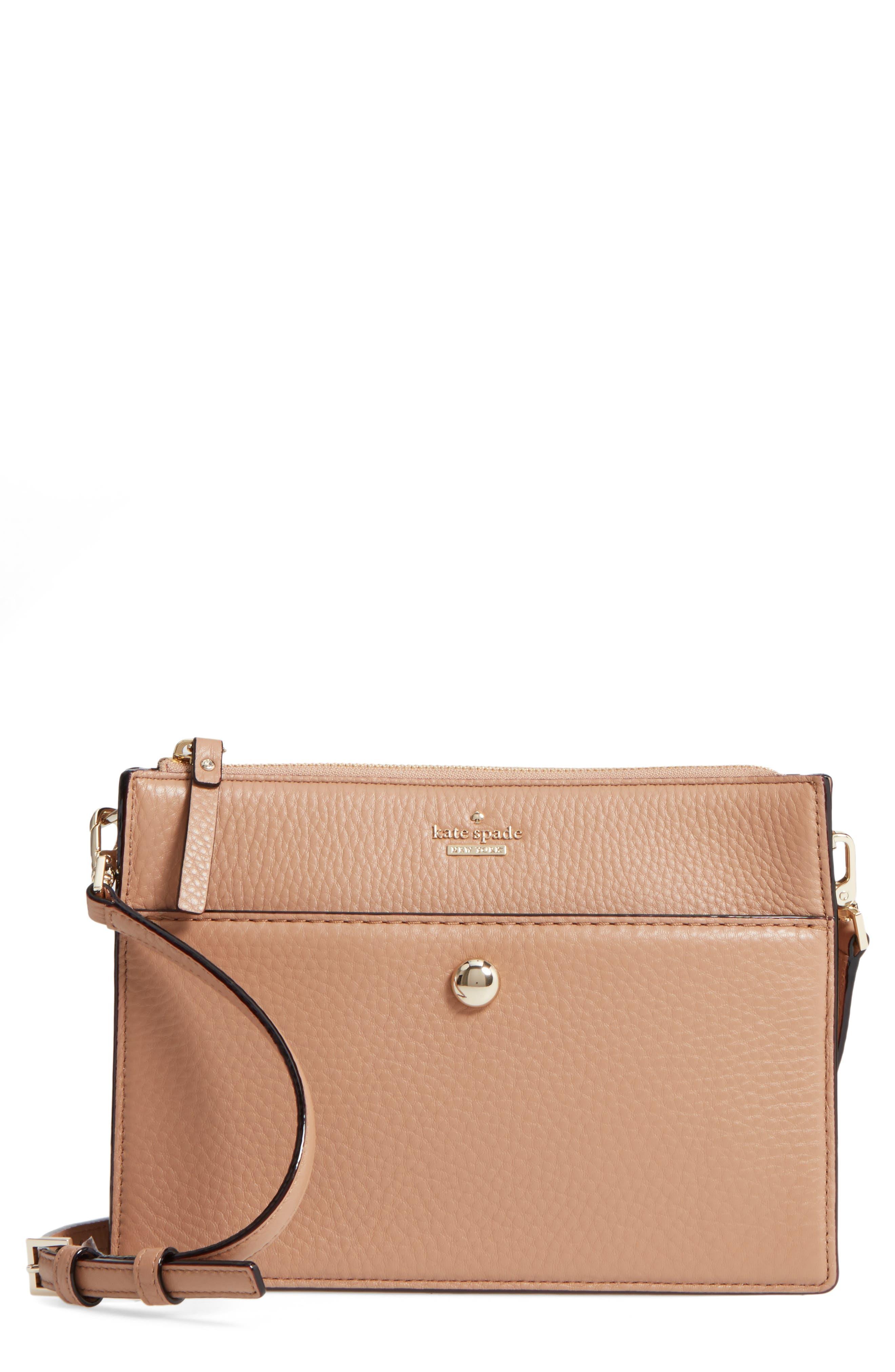 steward street clarise leather shoulder bag,                             Main thumbnail 2, color,