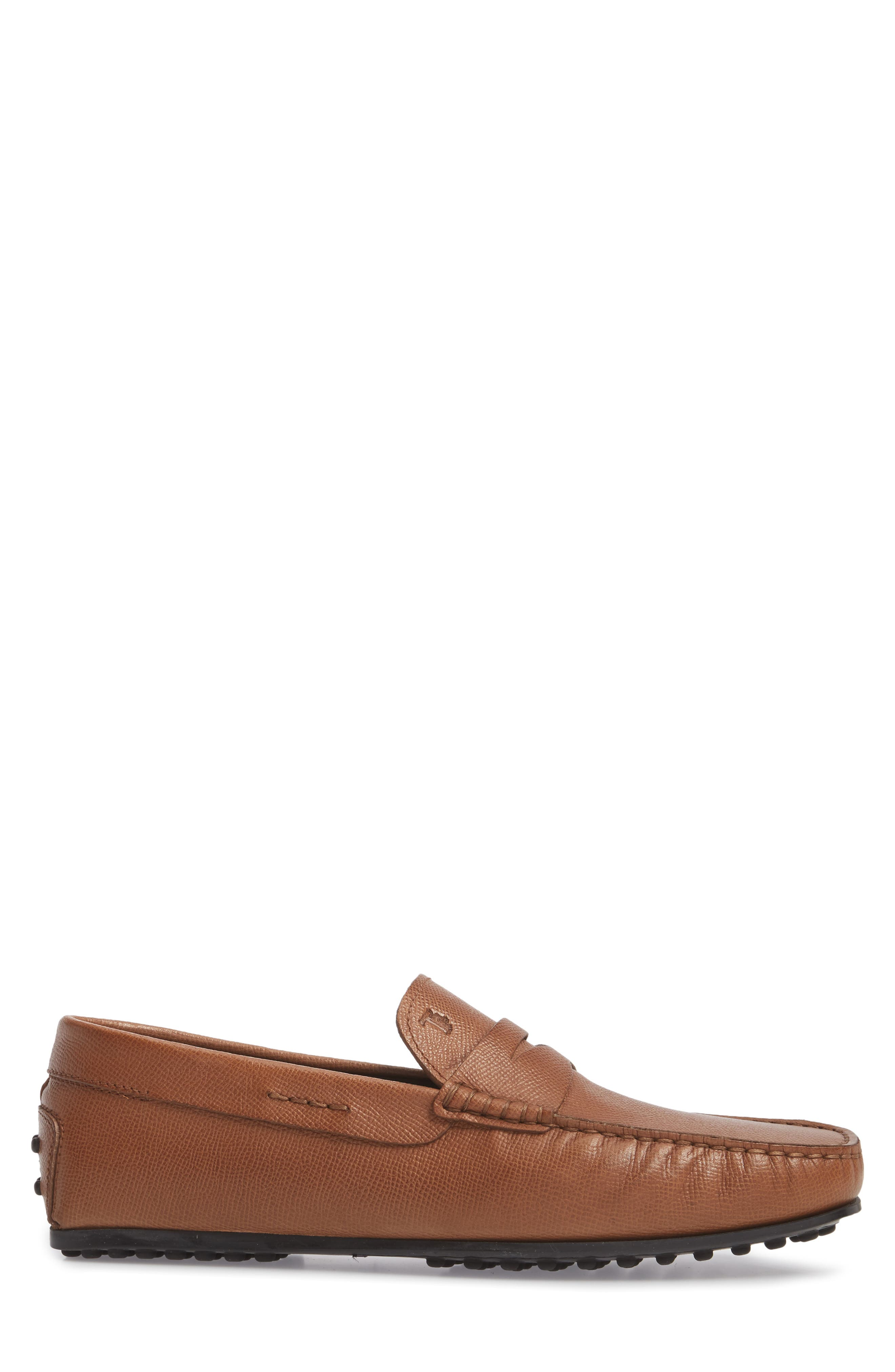 City Driving Shoe,                             Alternate thumbnail 3, color,                             TAN LEATHER