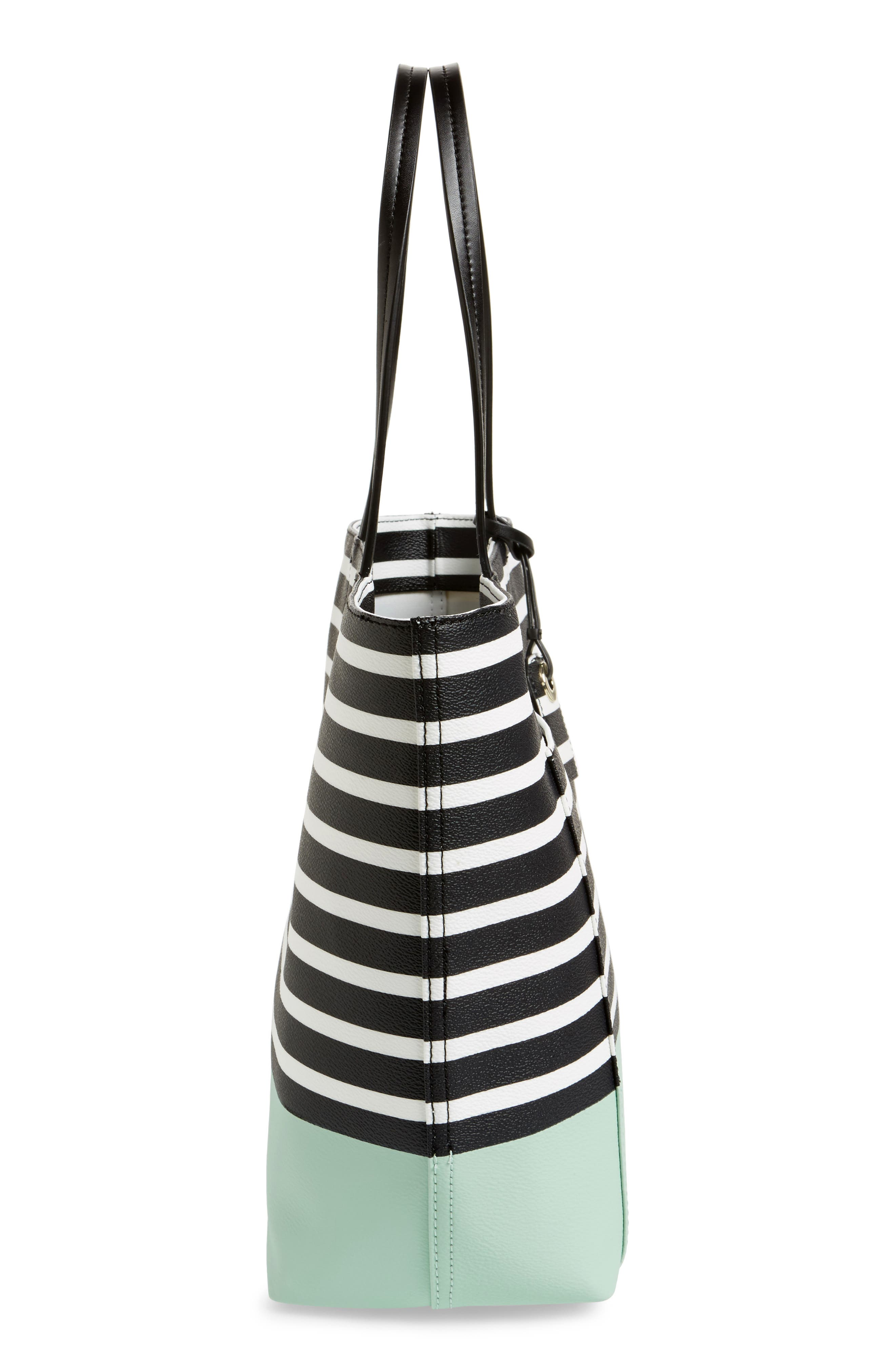 hyde lane dipped stripe - riley tote,                             Alternate thumbnail 5, color,                             377