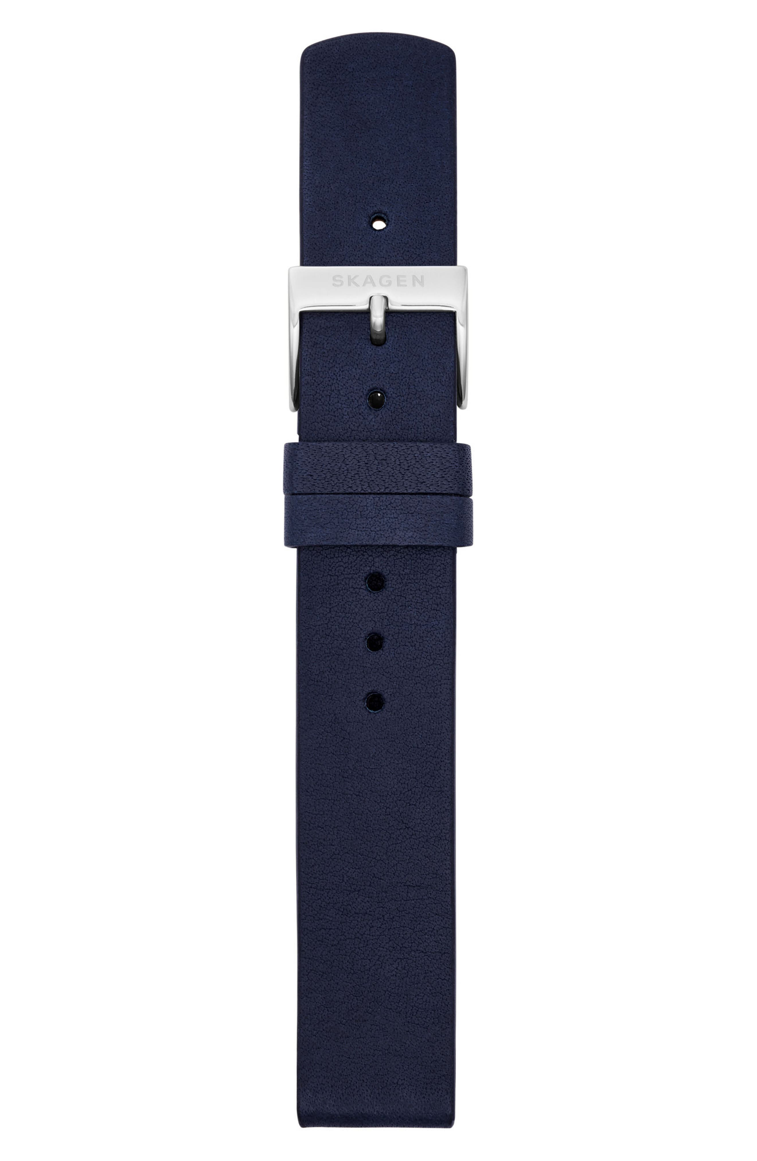 Leather Watch Strap, 16mm,                             Alternate thumbnail 5, color,