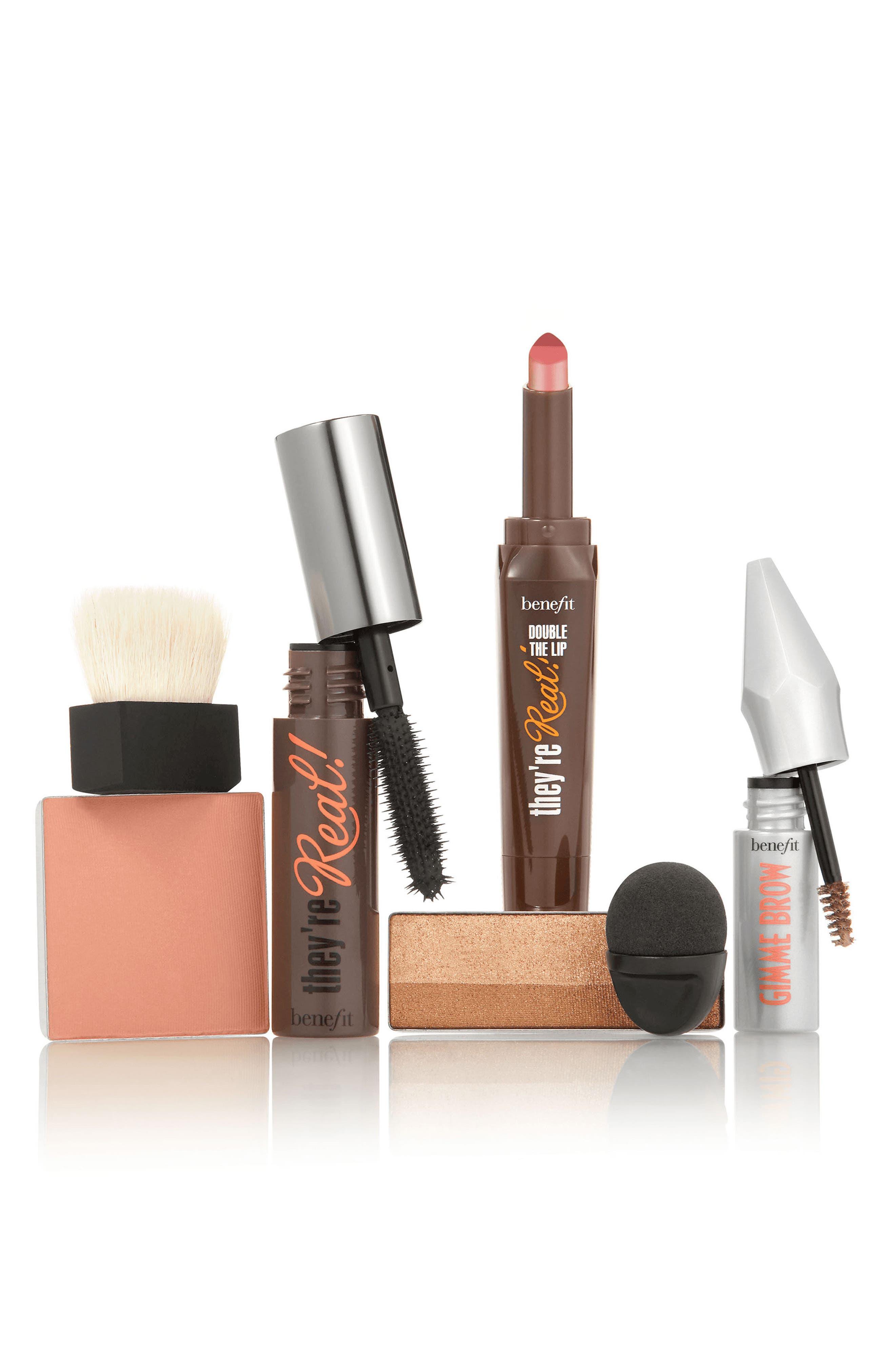 Benefit Golden Gate Glam Complete Makeup Kit,                             Alternate thumbnail 3, color,                             000