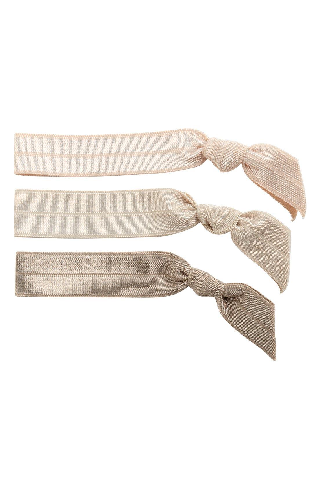 EMI-JAY 'Pearl' Hair Ties, Main, color, 000