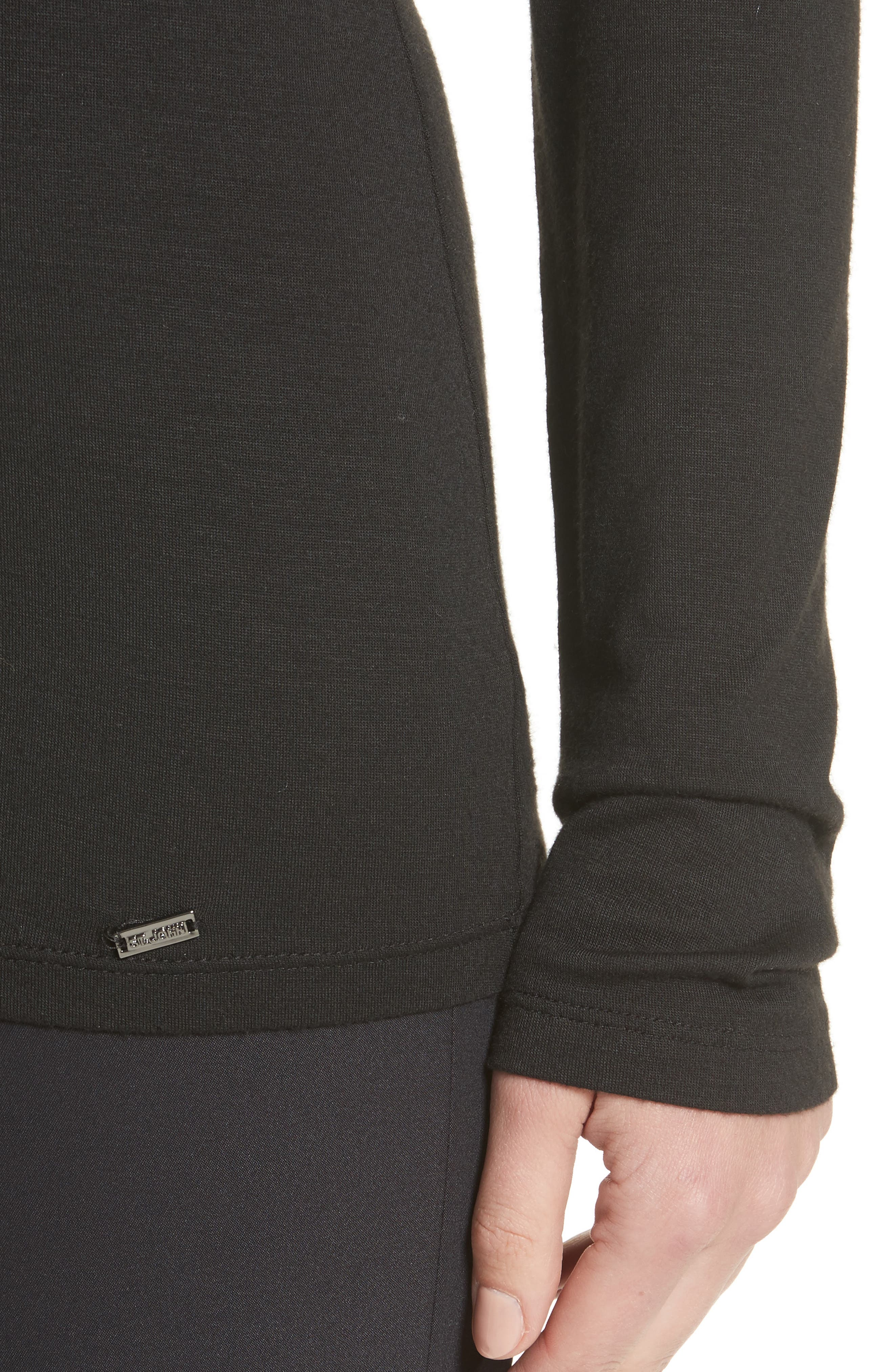 Stretch Jersey Top,                             Alternate thumbnail 7, color,