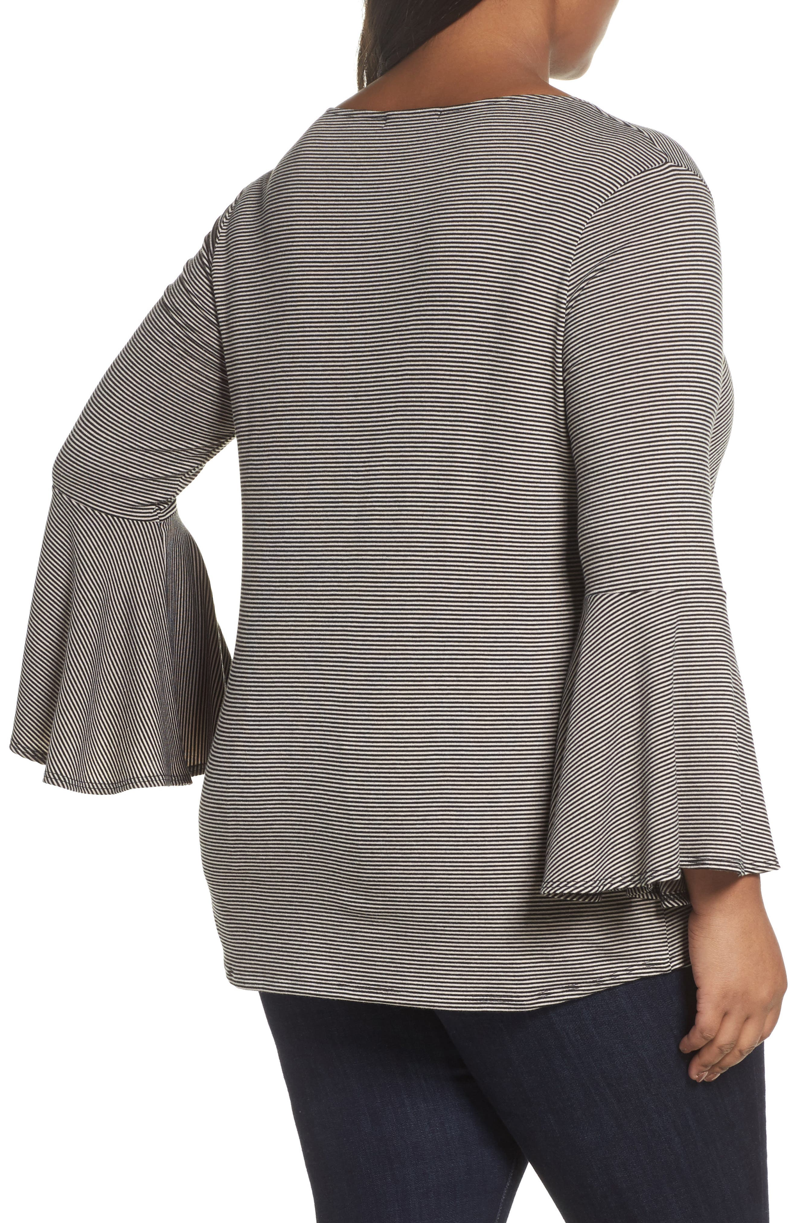 Bell Sleeve Top,                             Alternate thumbnail 5, color,