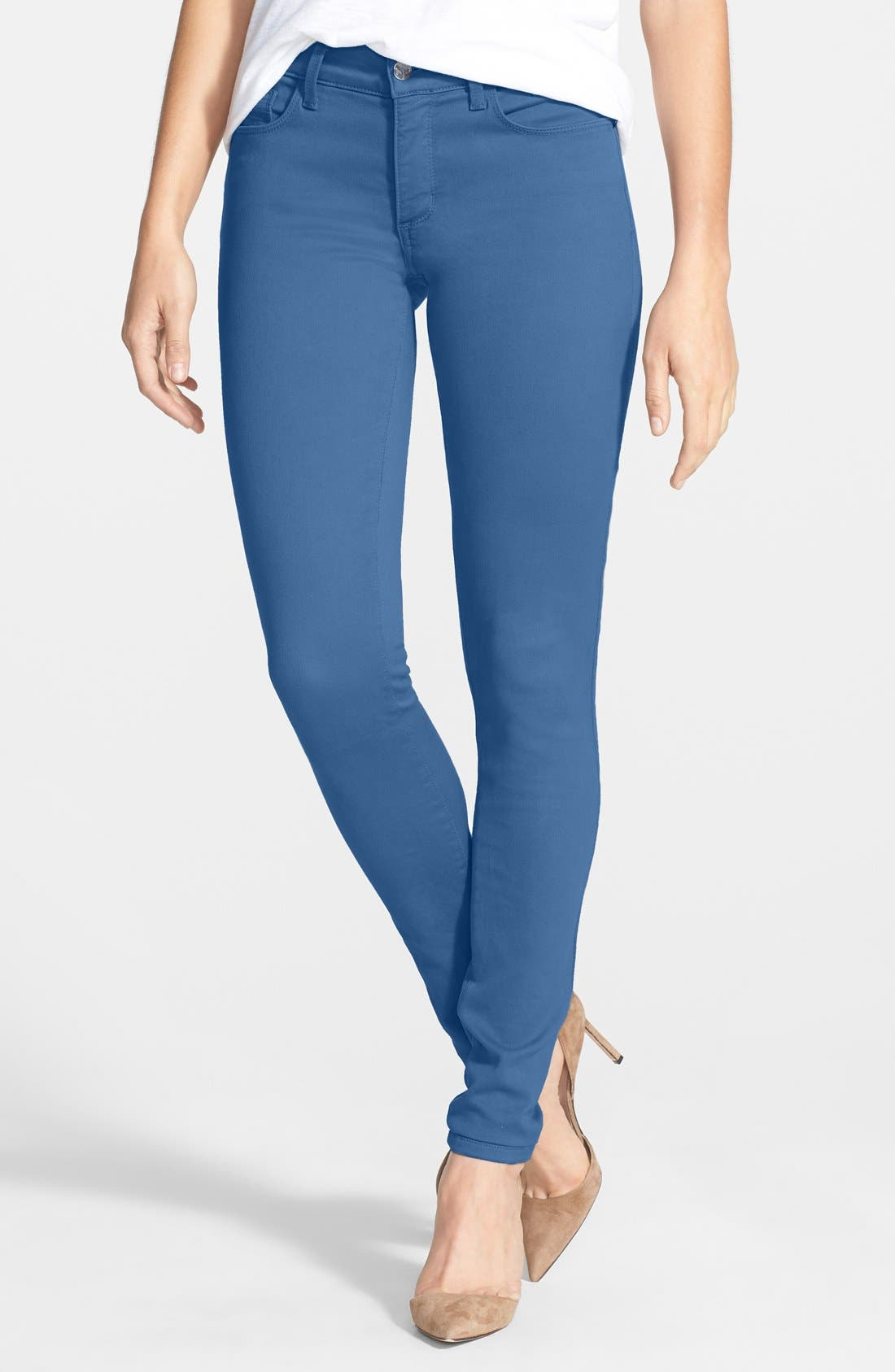 Alina Colored Stretch Skinny Jeans,                             Main thumbnail 28, color,