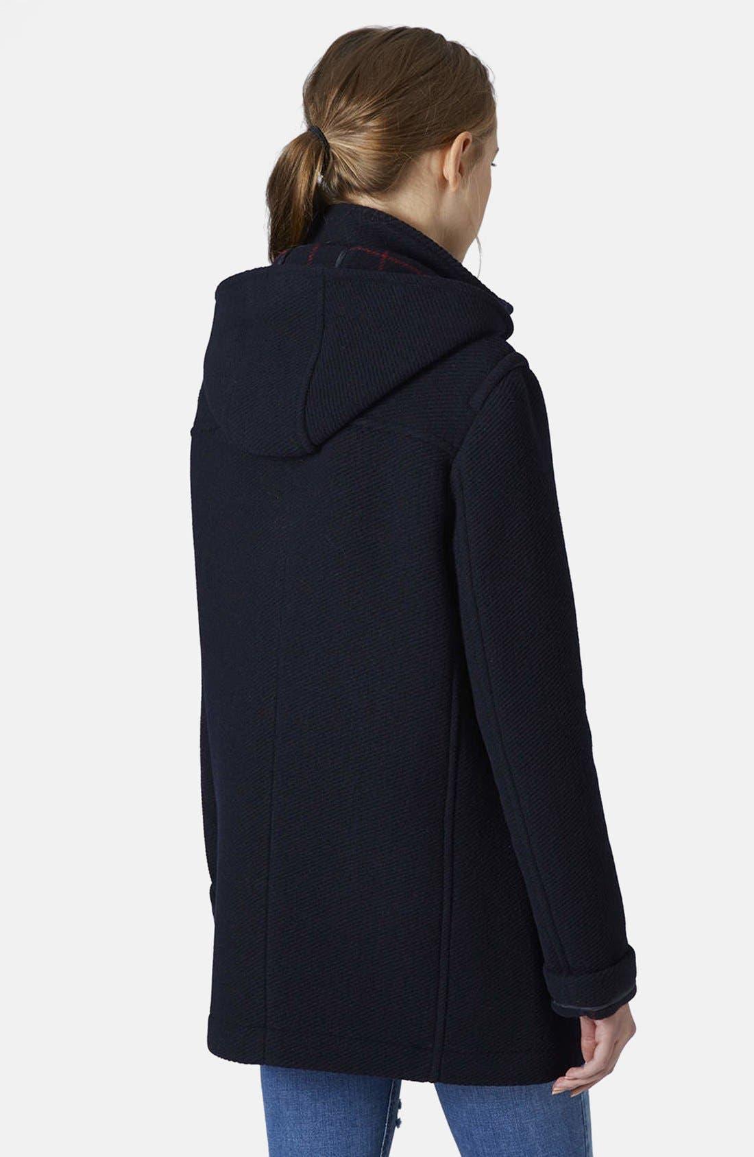Hooded Duffle Coat,                             Alternate thumbnail 5, color,                             410