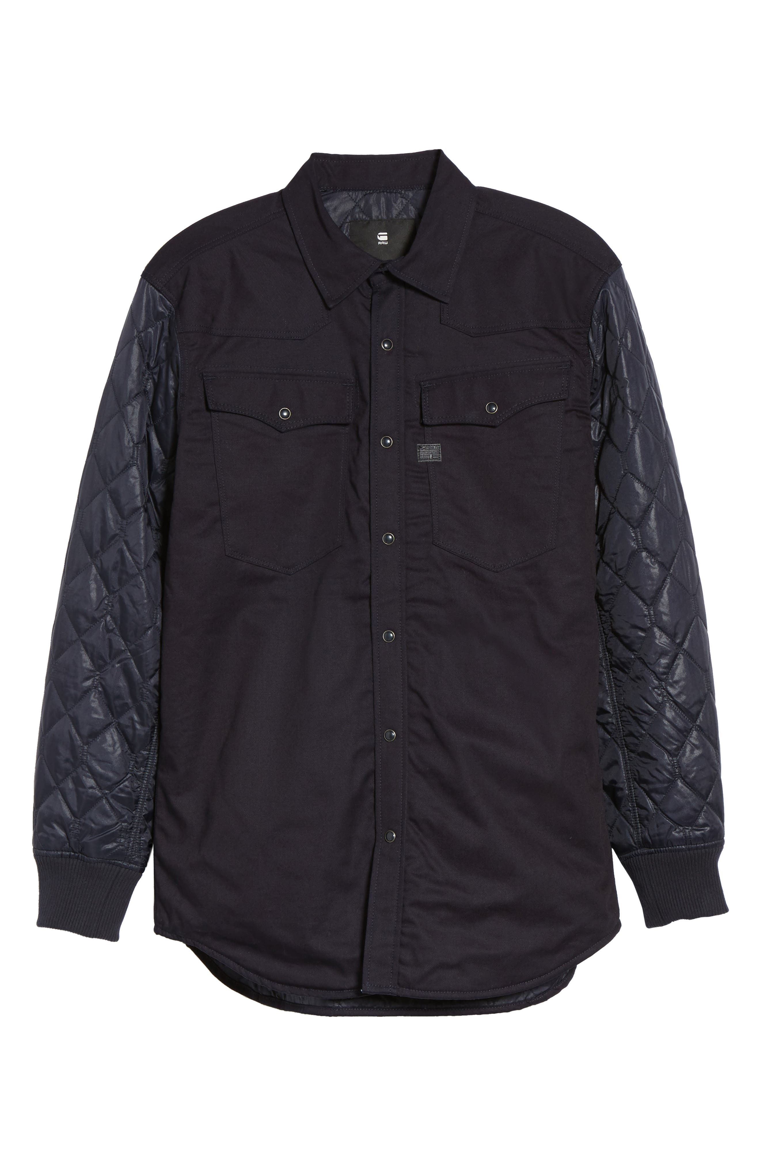 3301 HC Quilted Shirt Jacket,                             Alternate thumbnail 5, color,                             400
