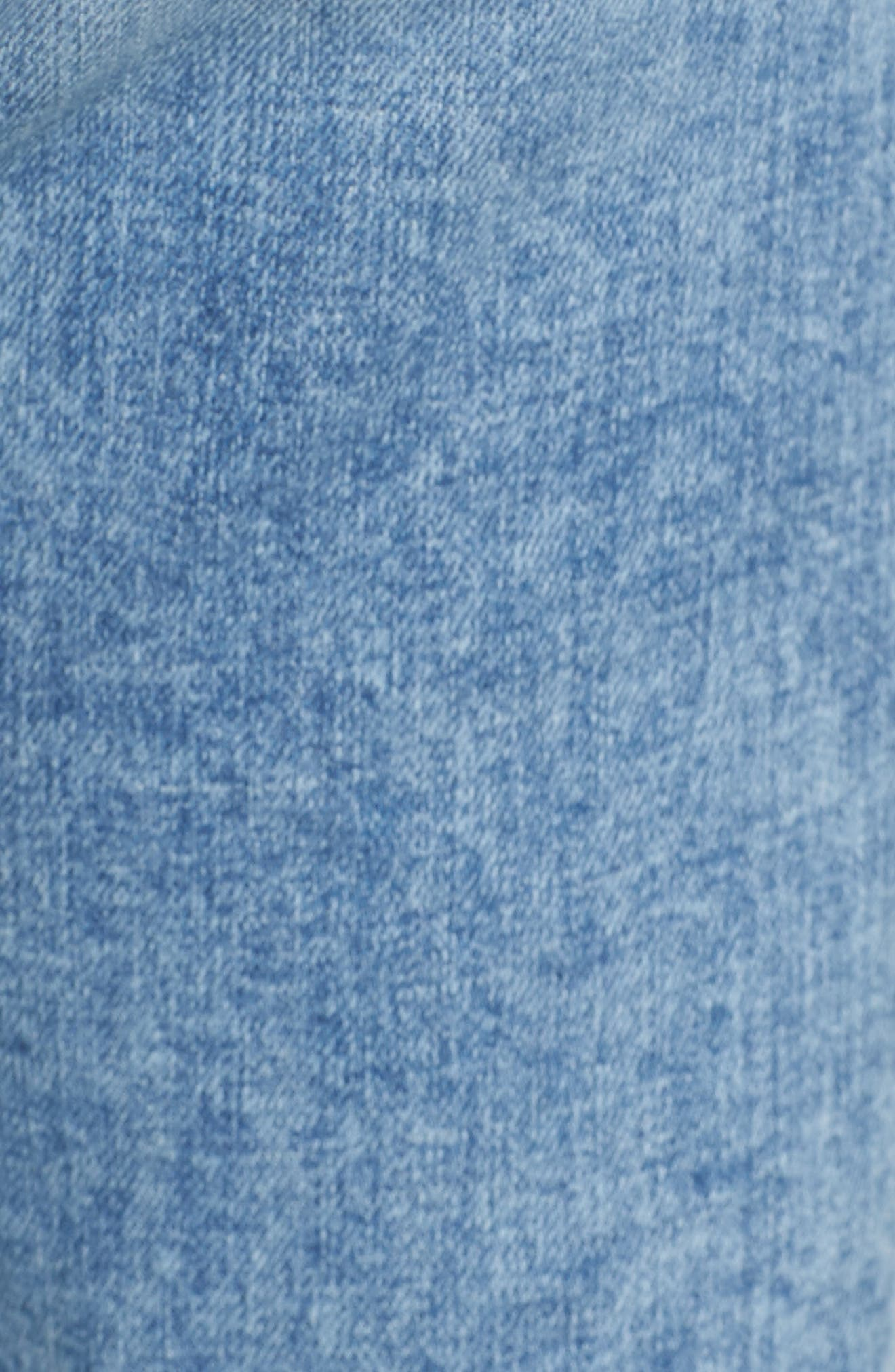 Ali High Waist Crop Flare Leg Jeans,                             Alternate thumbnail 5, color,                             400
