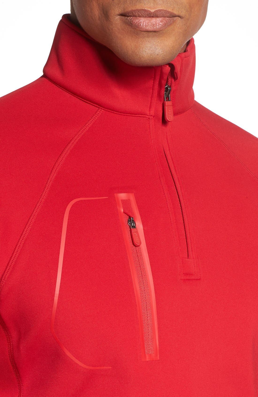 XH2O Crawford Stretch Quarter Zip Golf Pullover,                             Alternate thumbnail 50, color,