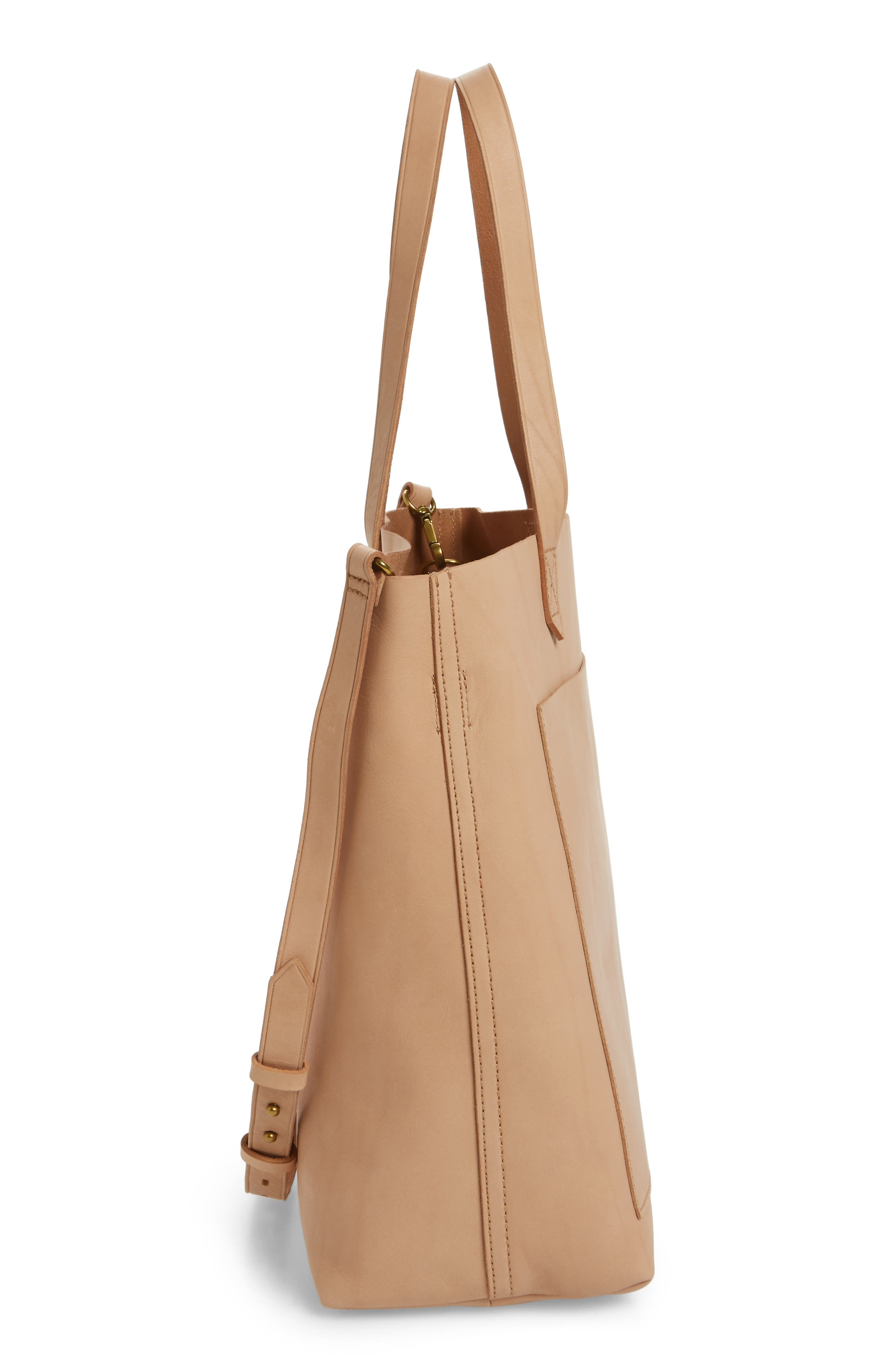 Medium Leather Transport Tote,                             Alternate thumbnail 75, color,