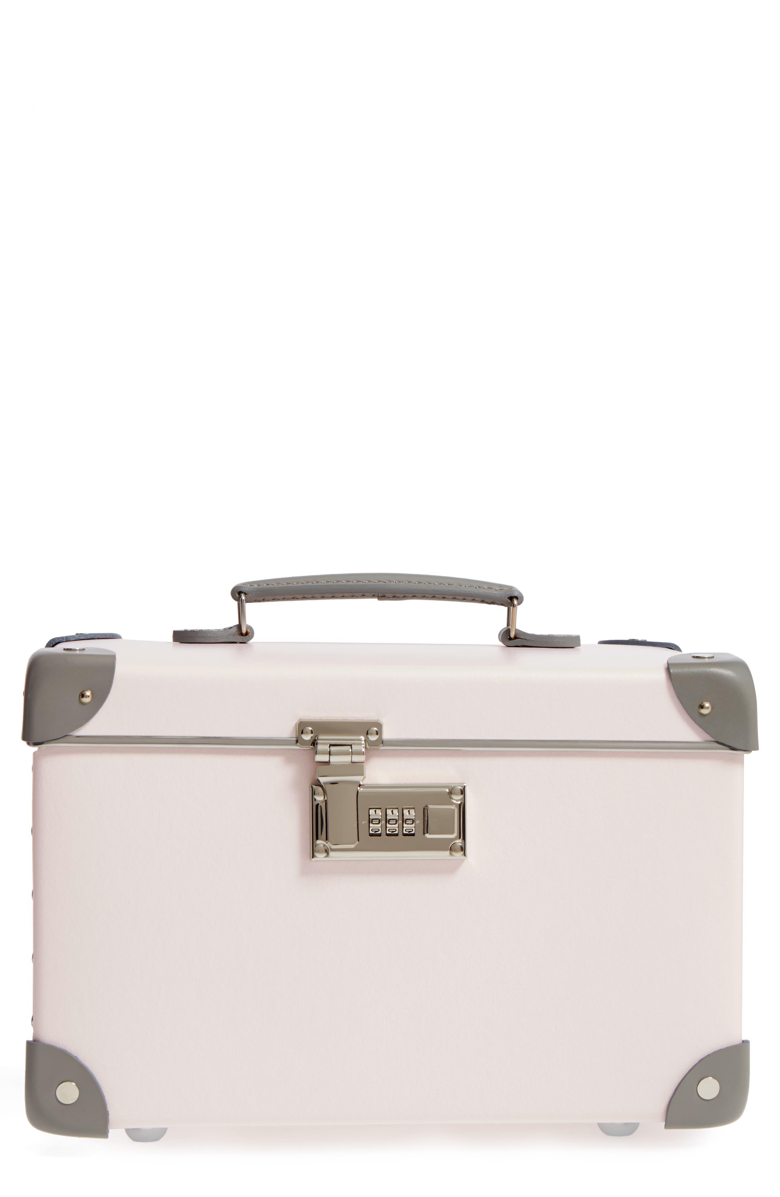 Blossom 13-Inch Vanity Case,                         Main,                         color, PINK/GREY