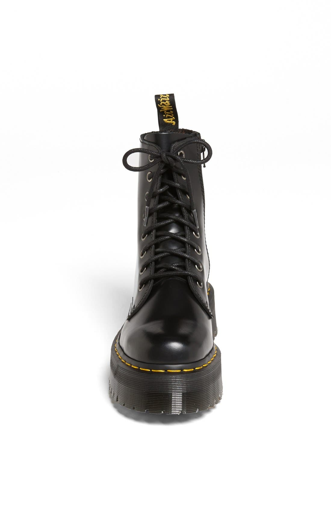 DR. MARTENS,                             'Jadon' Boot,                             Alternate thumbnail 3, color,                             BLACK