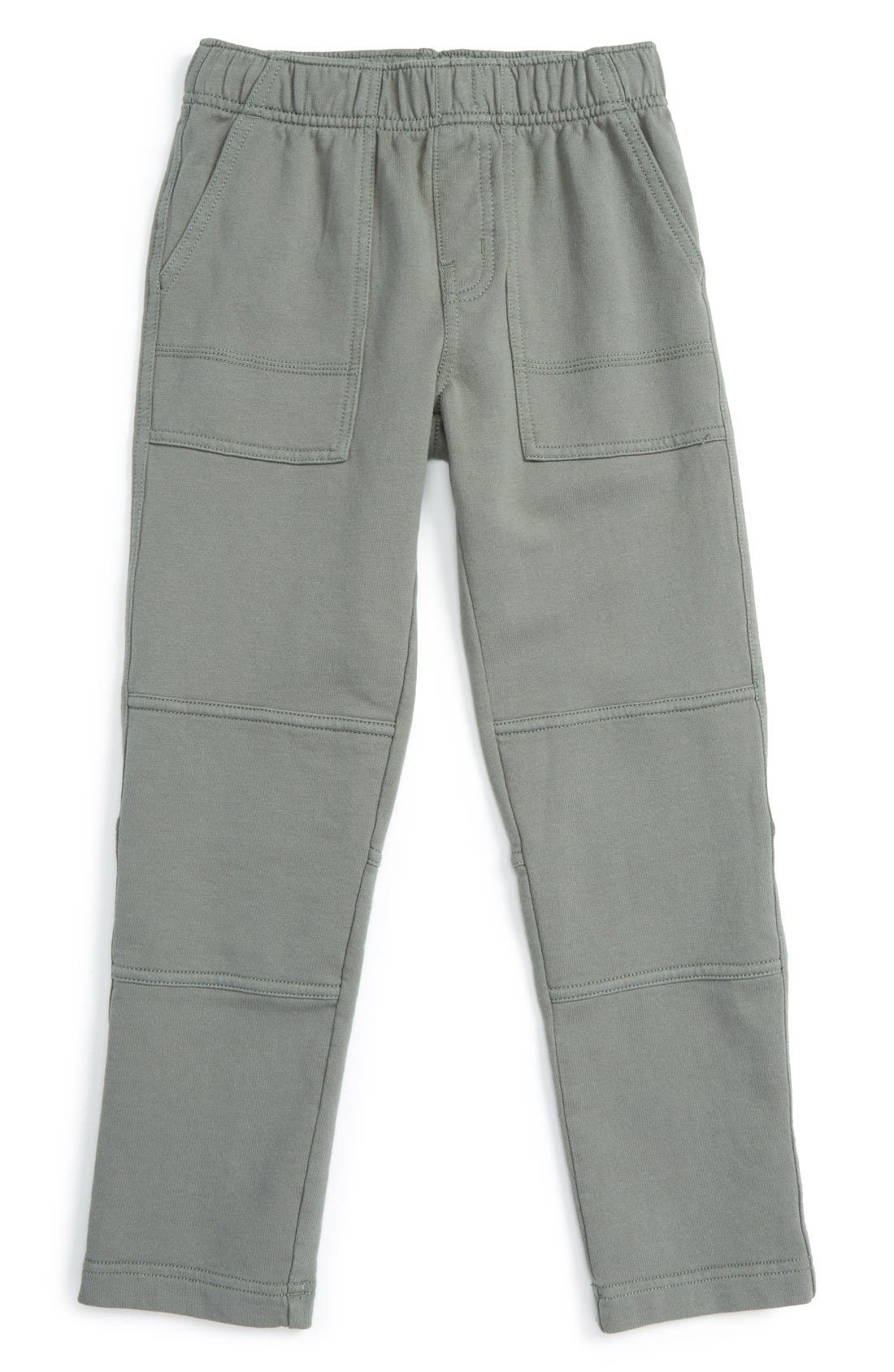 French Terry Pants,                         Main,                         color, OLIVE DRAB