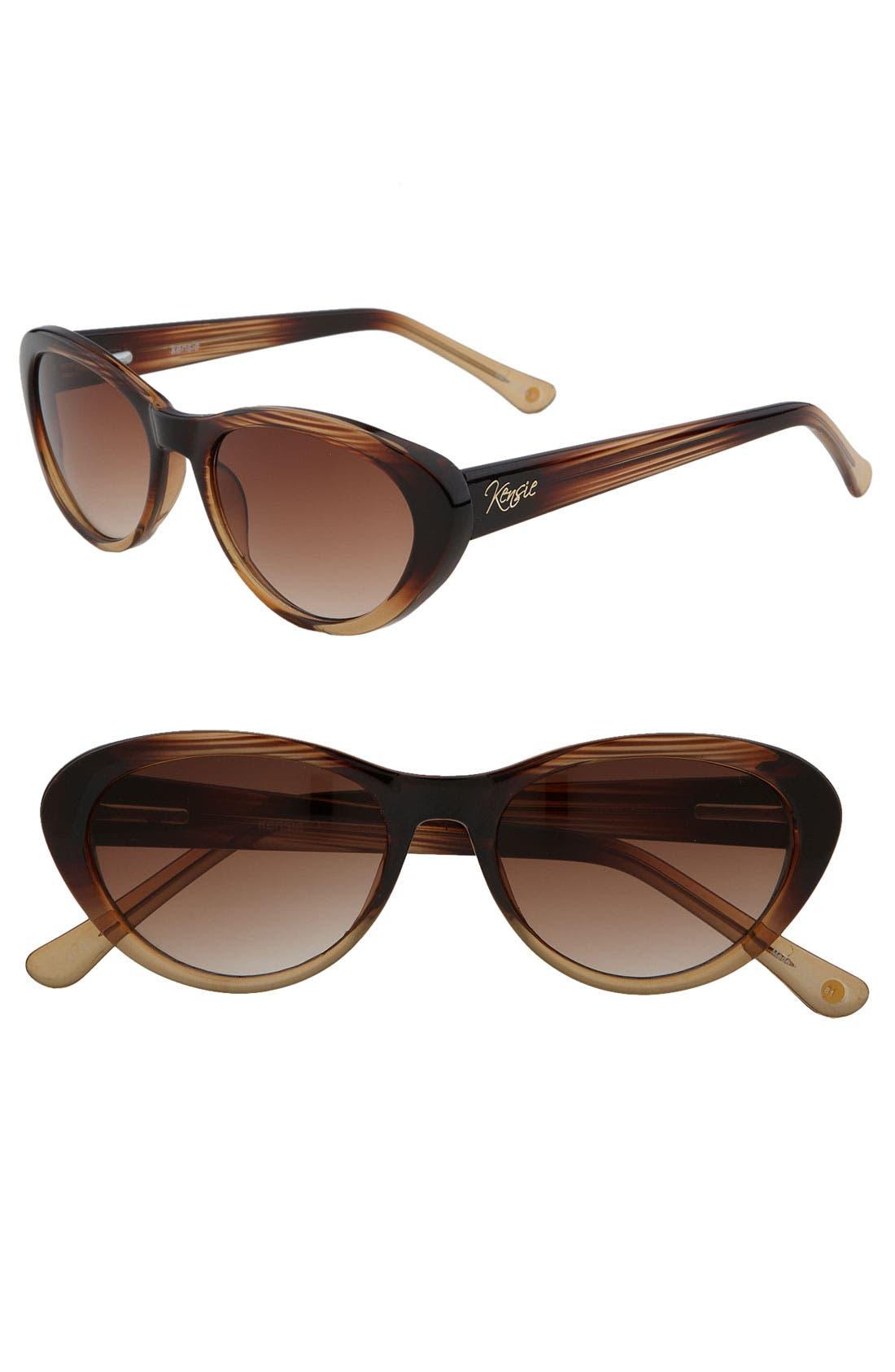 'Portia' Cat's Eye Sunglasses, Main, color, 200