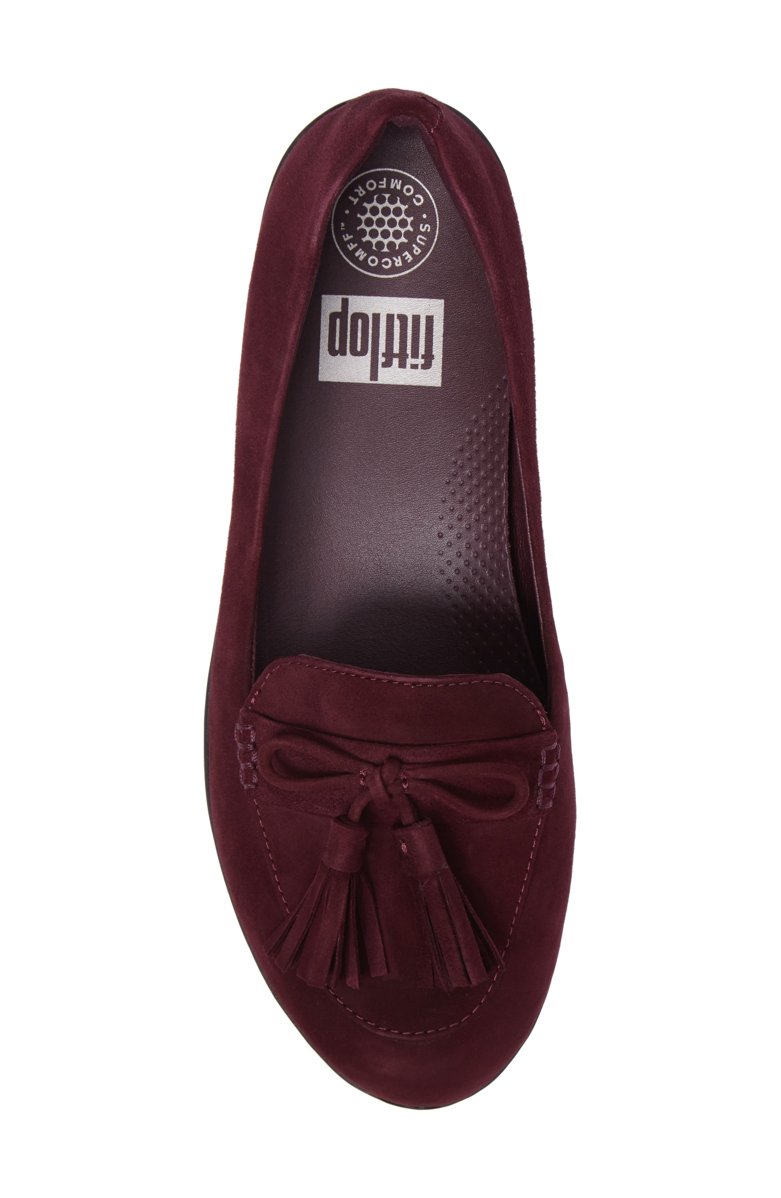 Tassel Bow Sneakerloafer<sup>™</sup> Water Repellent Flat,                             Alternate thumbnail 20, color,