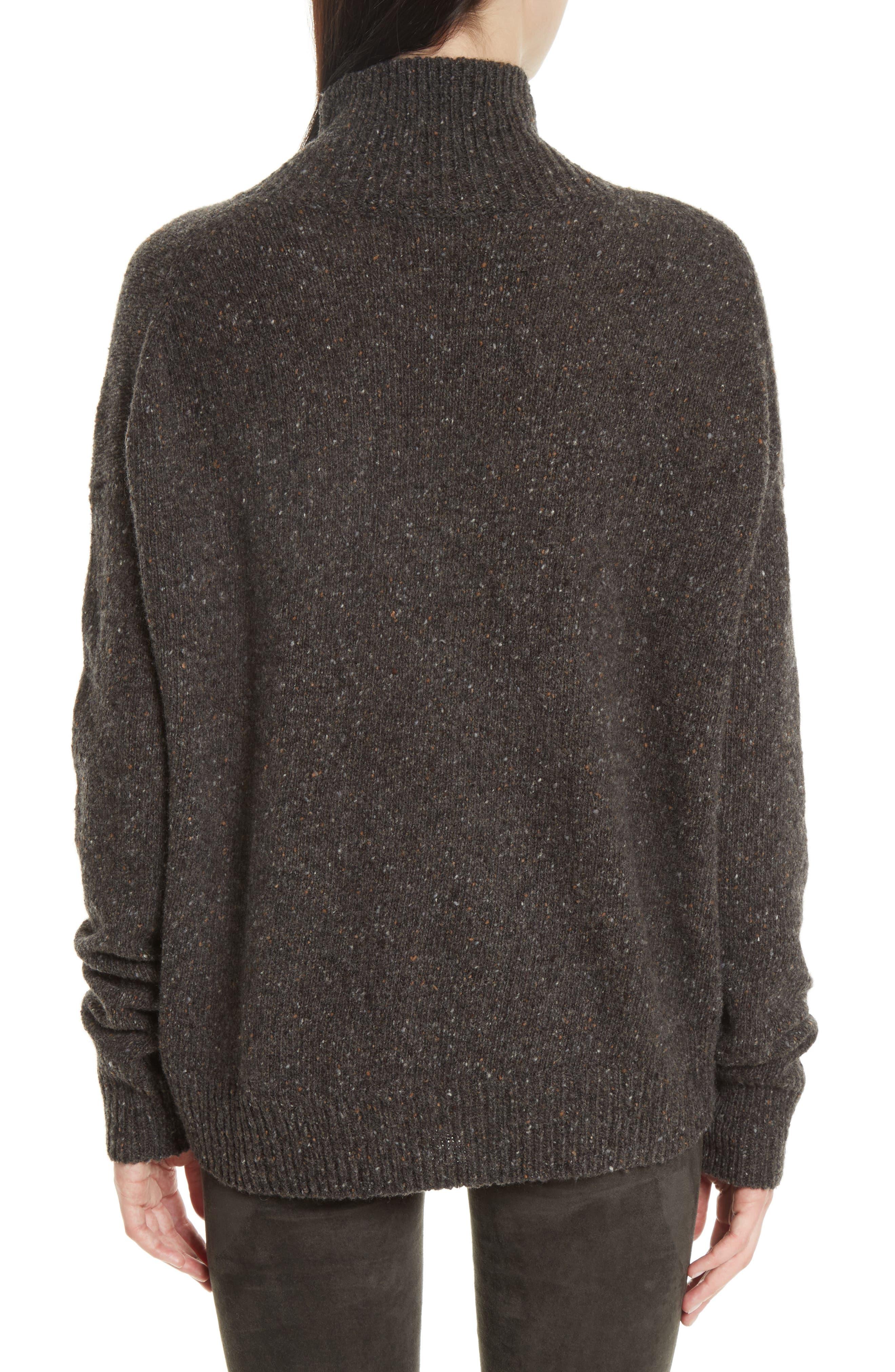 Cashmere Turtleneck Sweater,                             Alternate thumbnail 2, color,                             060