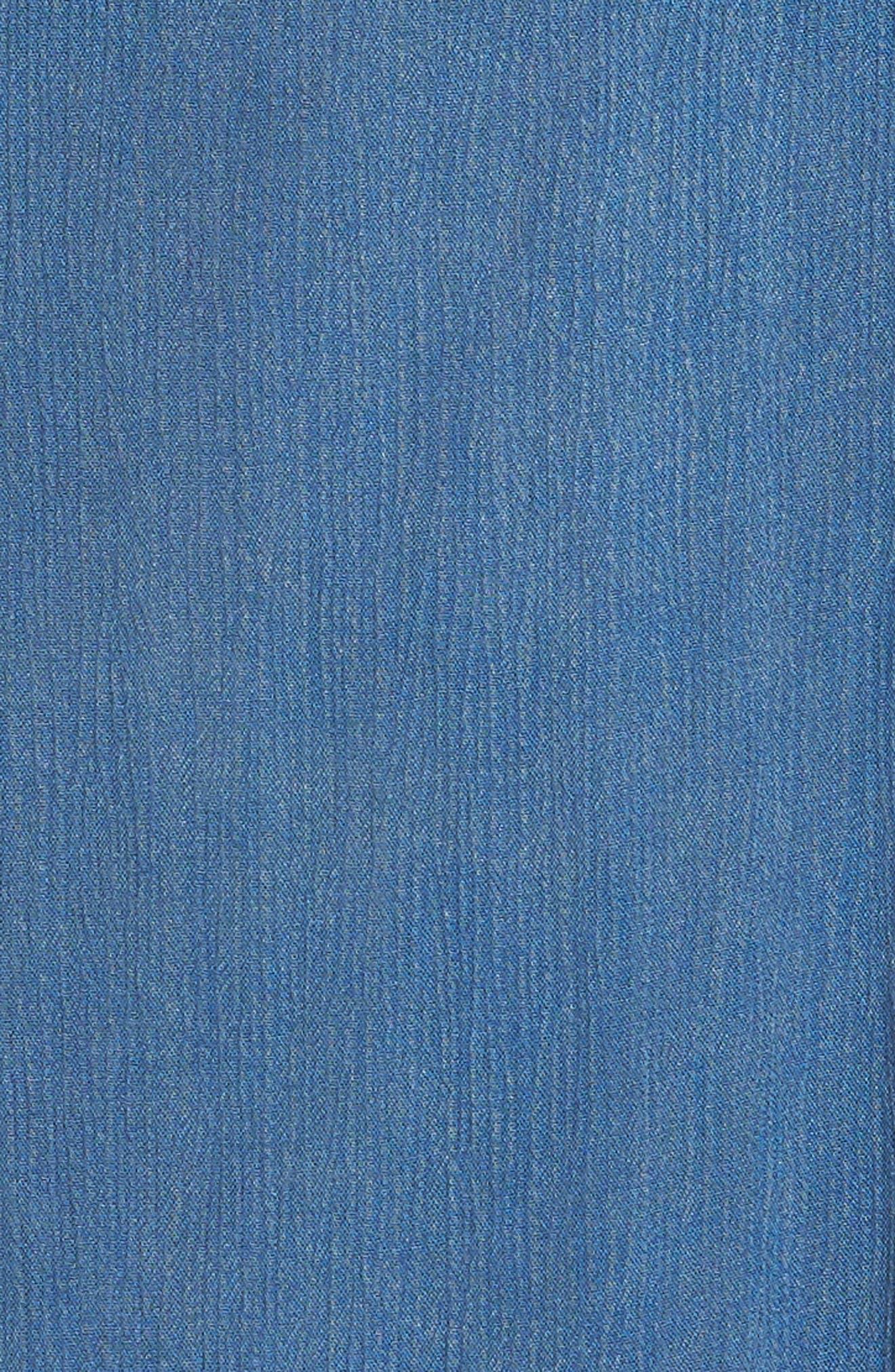 Gavin Ruffle Cover-Up Dress,                             Alternate thumbnail 5, color,                             462