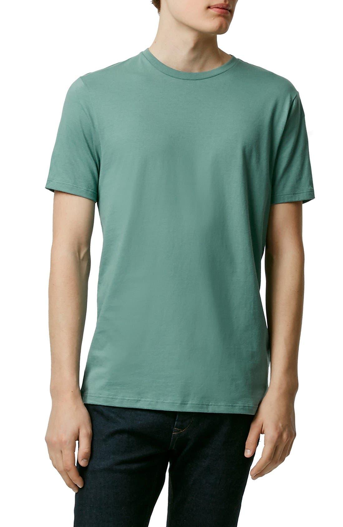 Slim Fit Crewneck T-Shirt,                             Main thumbnail 55, color,
