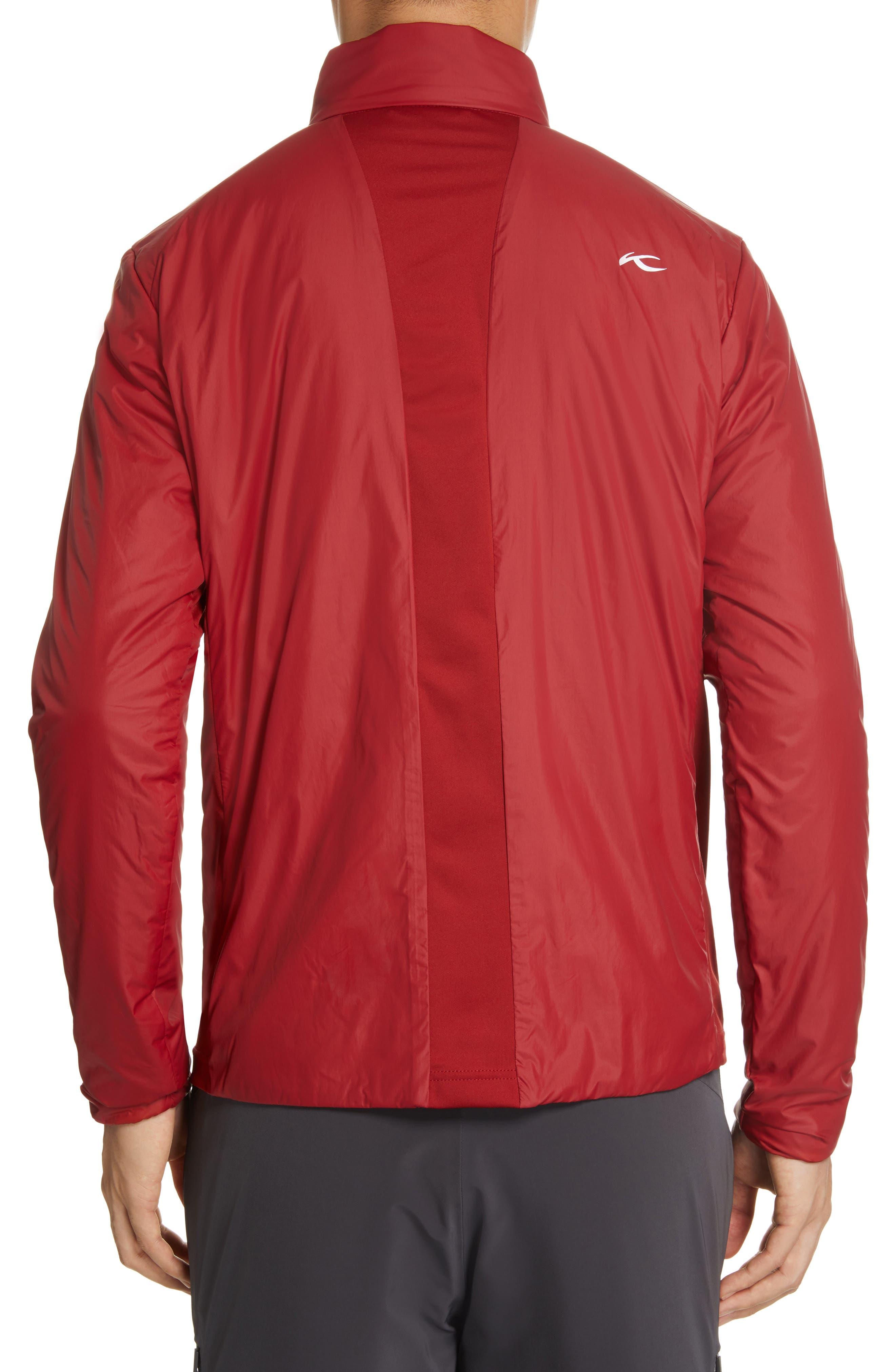 Radiation Waterproof Jacket,                             Alternate thumbnail 3, color,                             RED DAHLIA