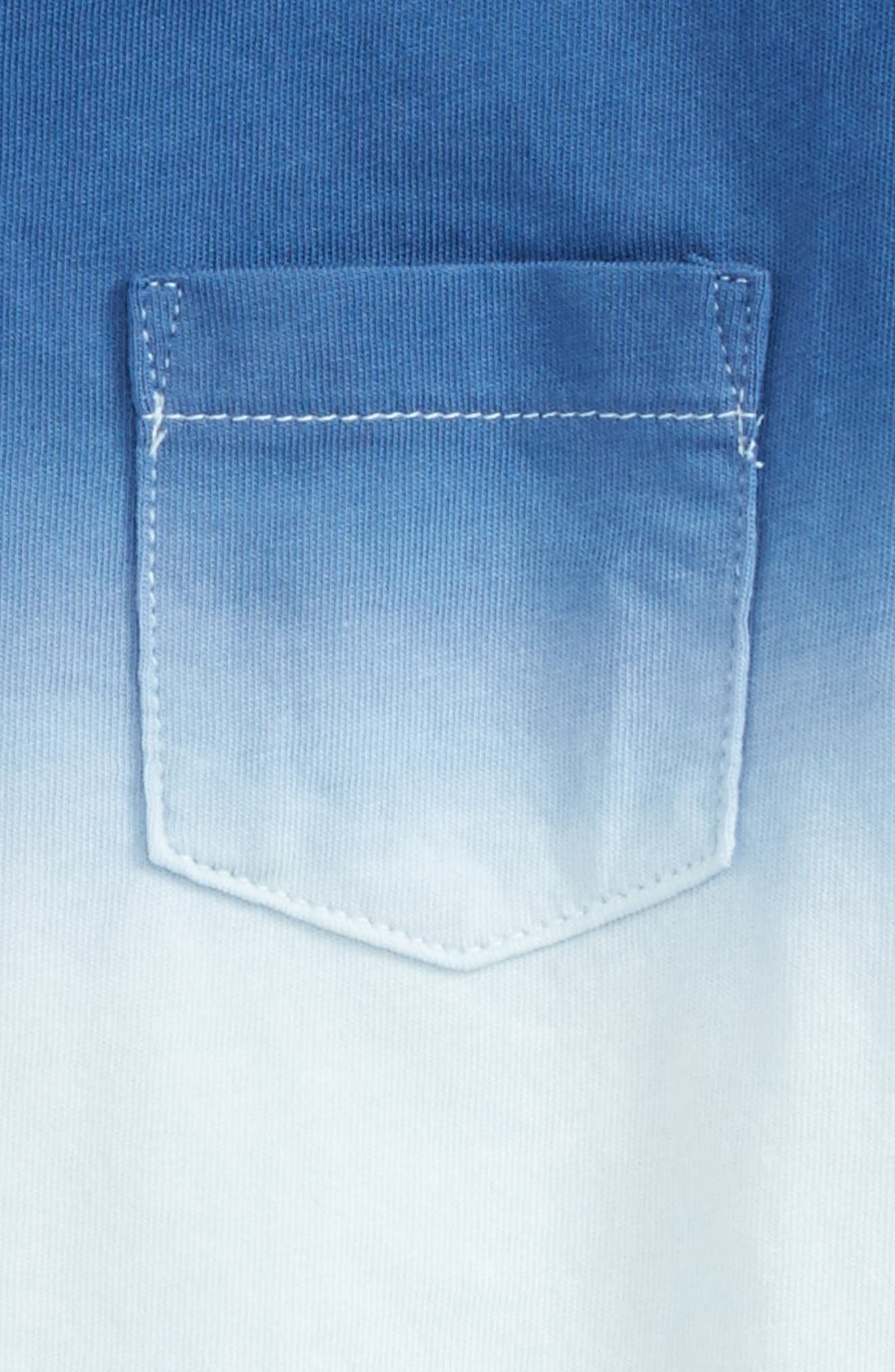 Peek Dip Dye Pocket T-Shirt,                             Alternate thumbnail 2, color,                             452