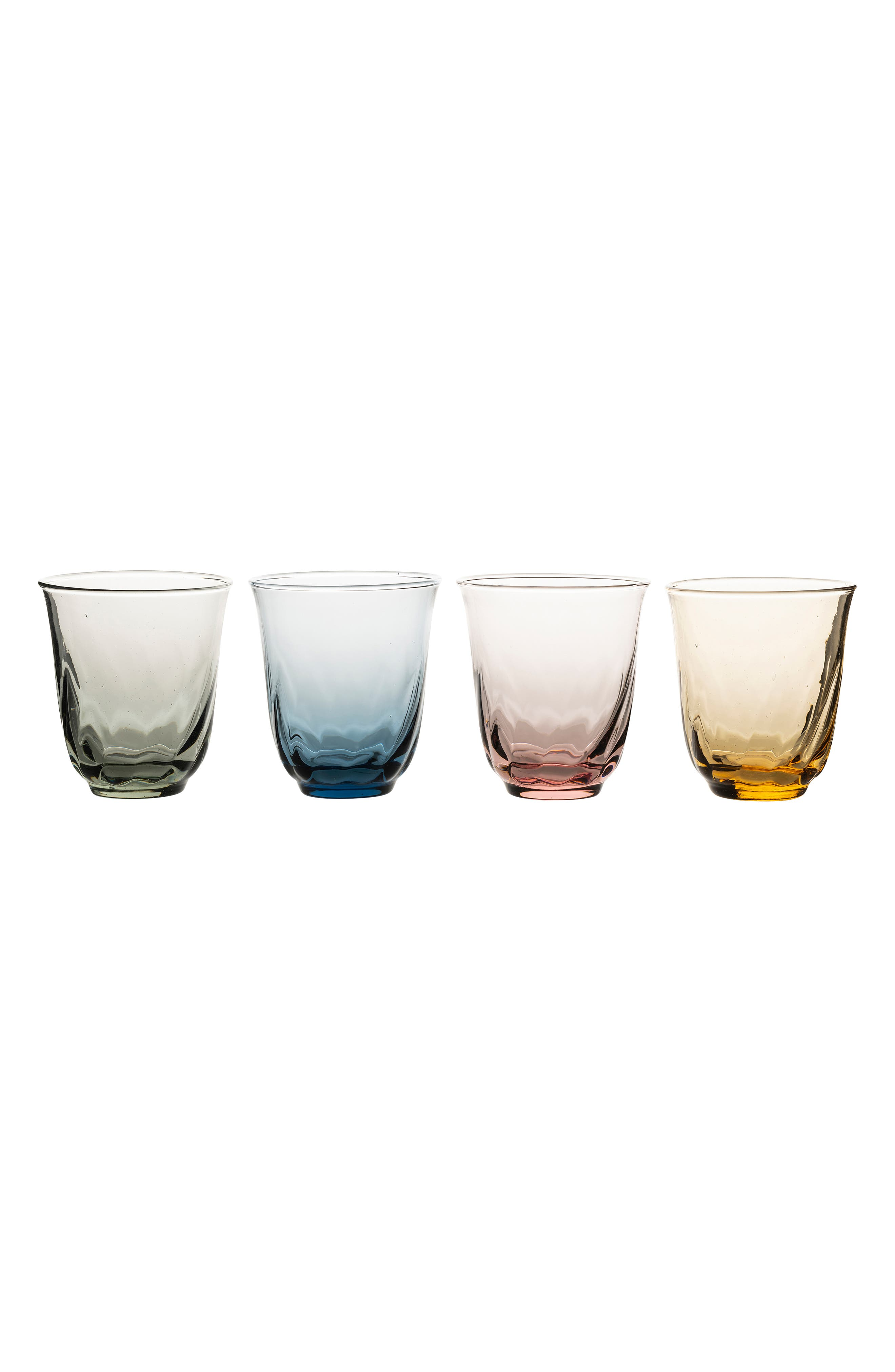 JULISKA Vienne Set of 4 Small Tumblers, Main, color, MULTI