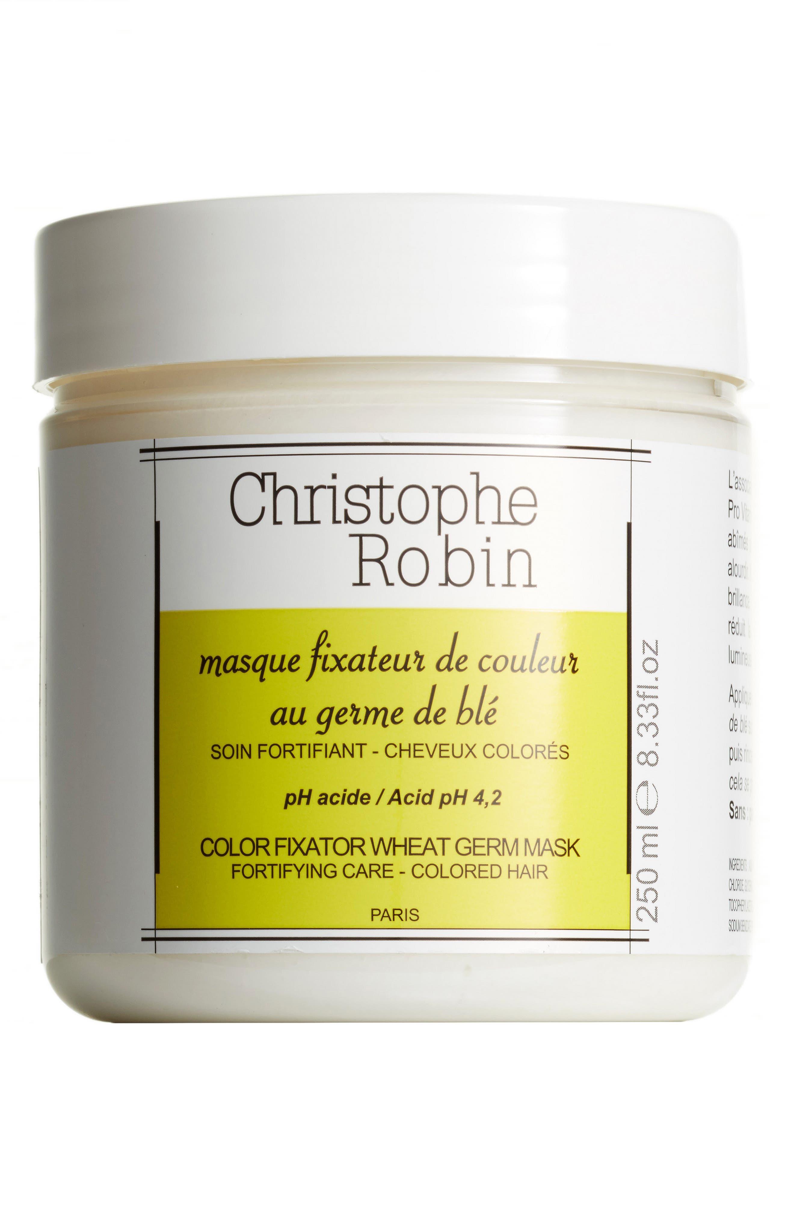 SPACE.NK.apothecary Christophe Robin Color Fixator Wheat Germ Mask,                         Main,                         color, NO COLOR