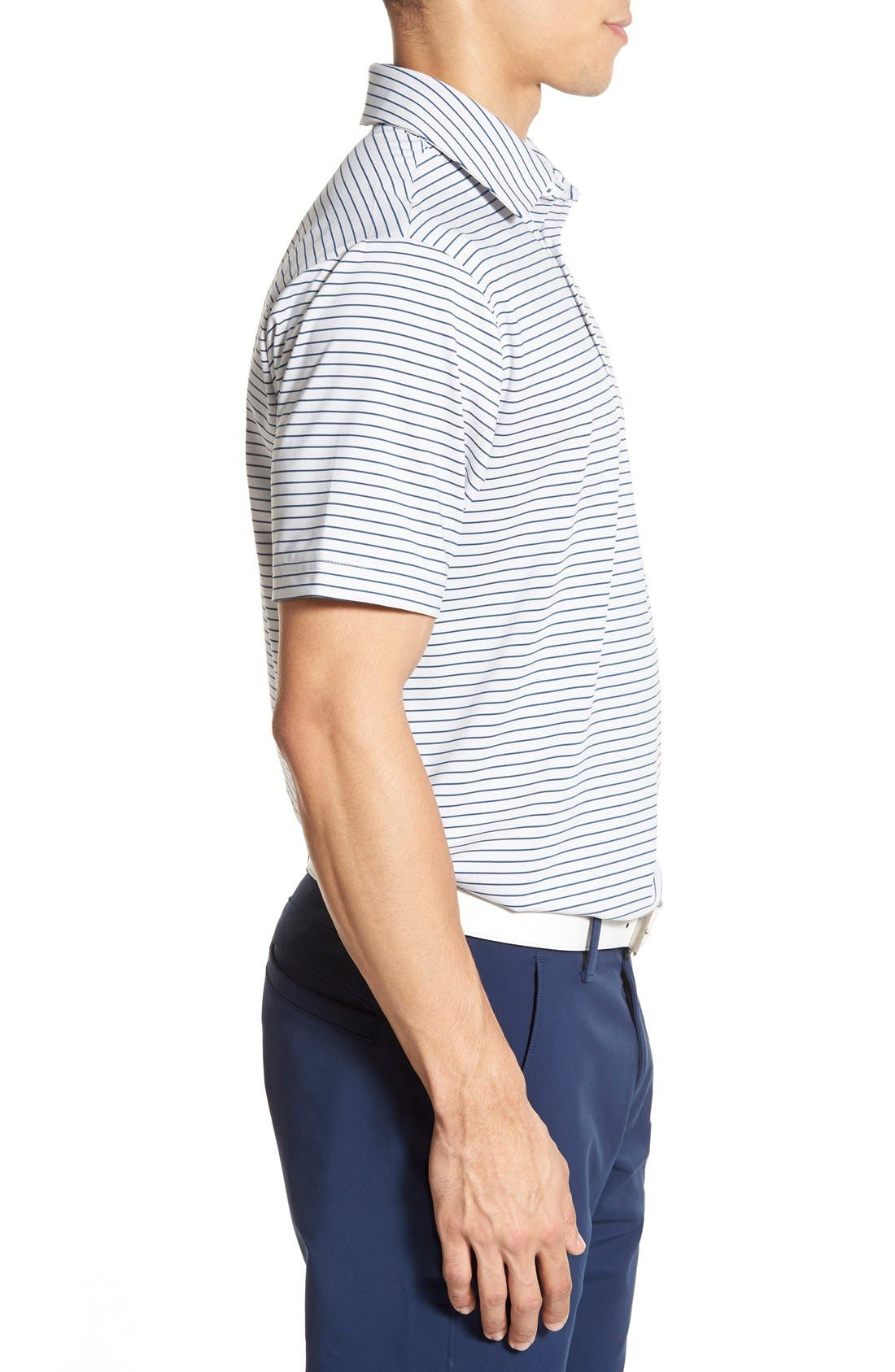 'Playoff' Loose Fit Short Sleeve Polo,                             Alternate thumbnail 190, color,