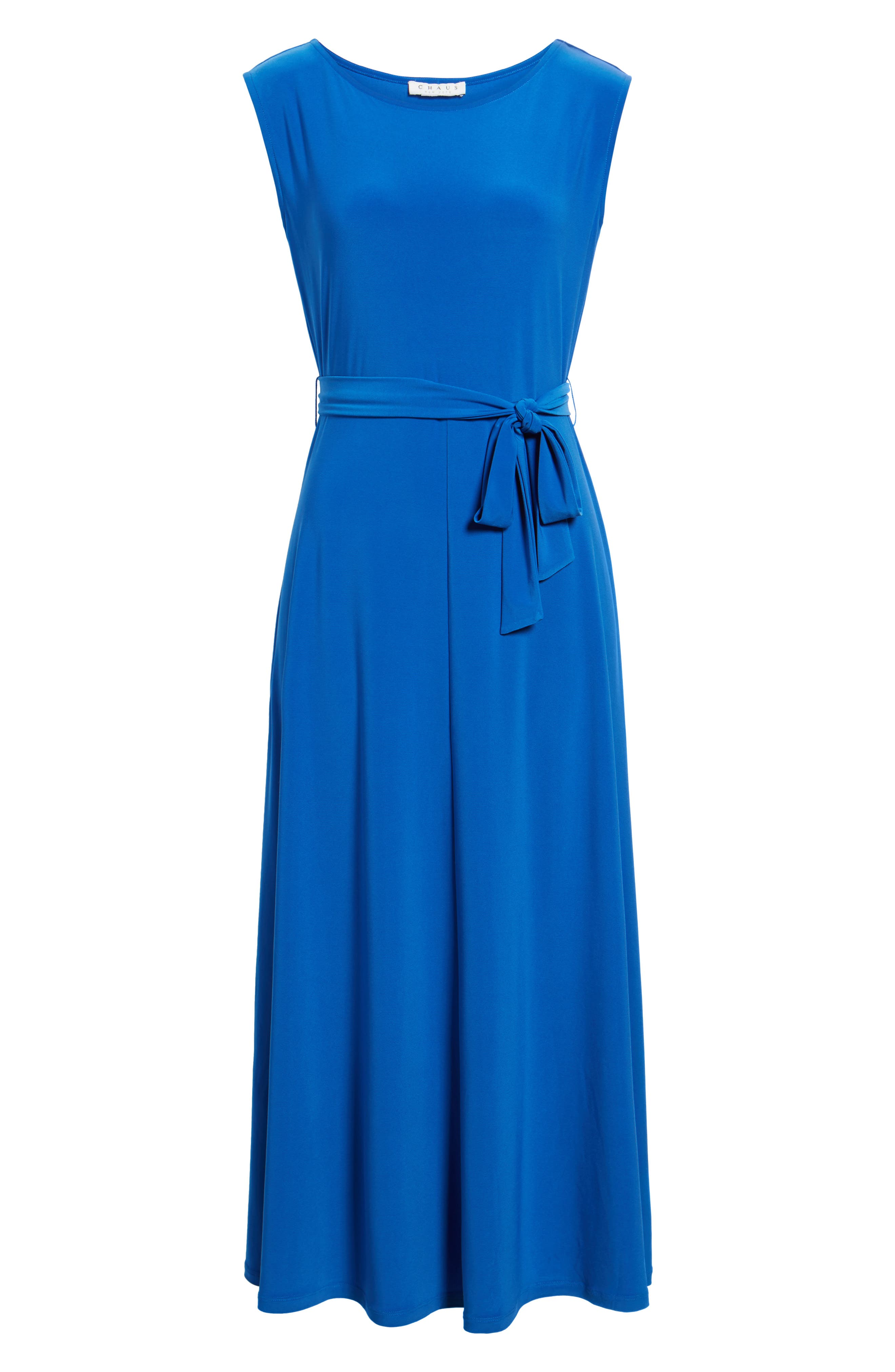 Cap Sleeve Tie Waist Maxi Dress,                             Alternate thumbnail 12, color,