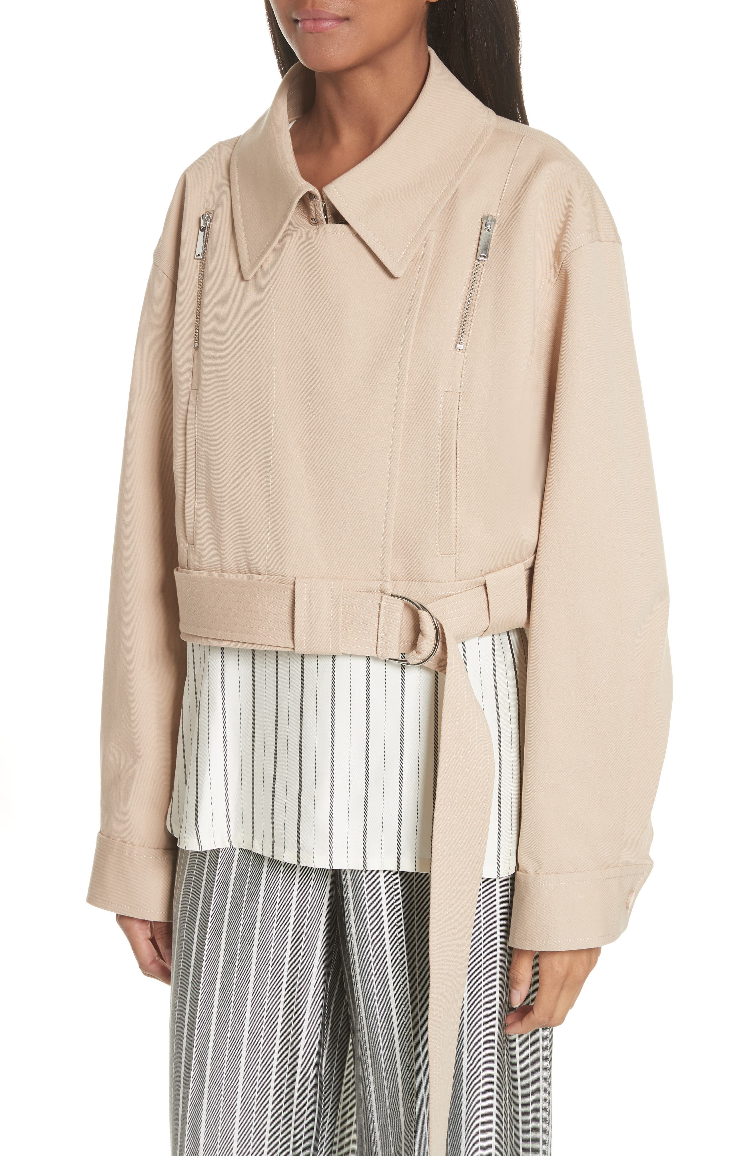 Sailor Stretch Twill Convertible Trench Coat,                             Alternate thumbnail 2, color,                             FAWN