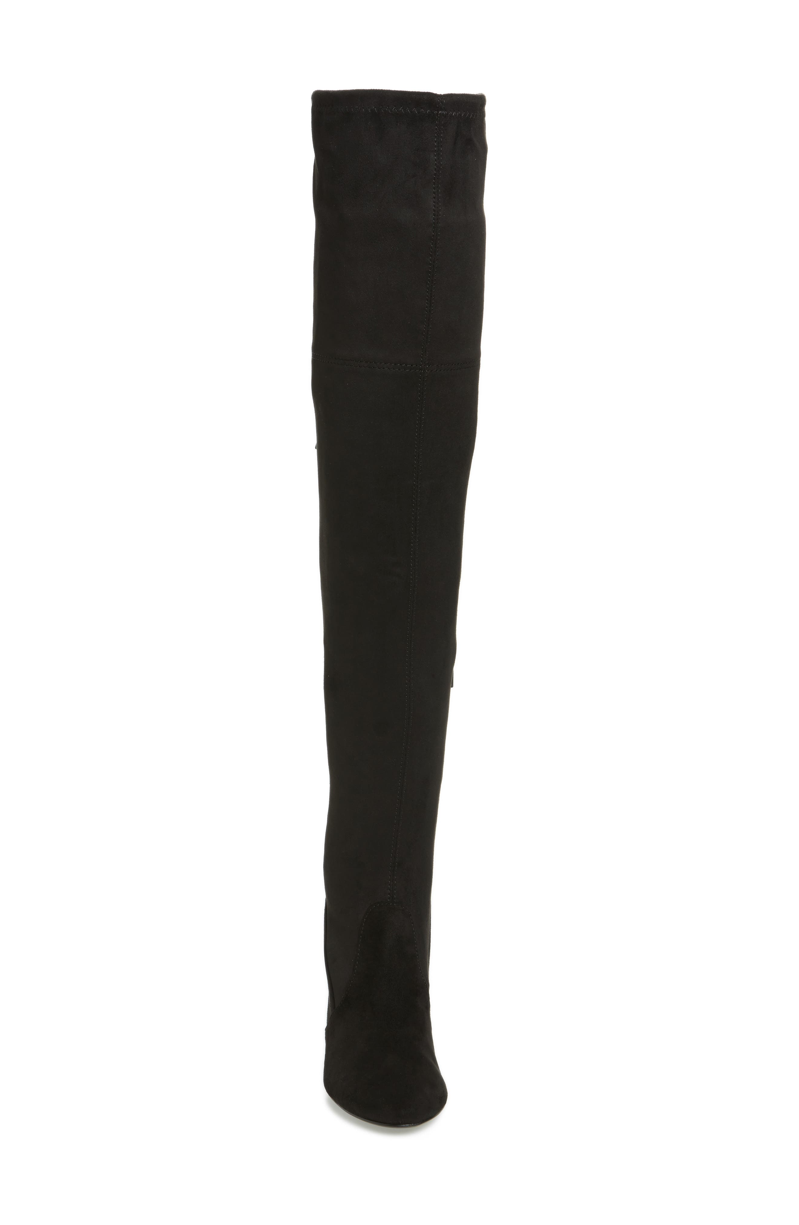 Brinna Over the Knee Boot,                             Alternate thumbnail 4, color,                             001