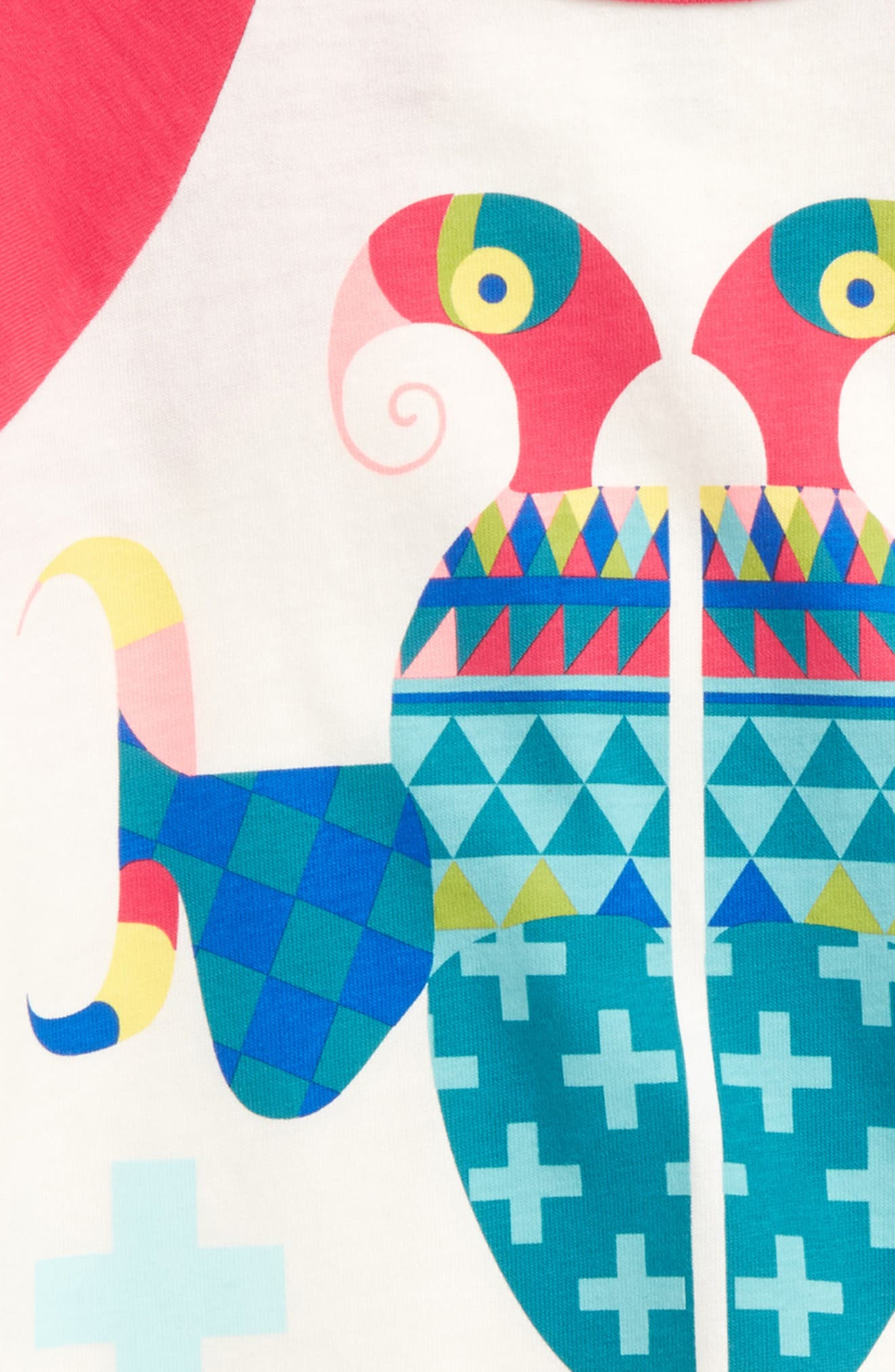 Harjo Parrot Tee,                             Alternate thumbnail 3, color,                             903