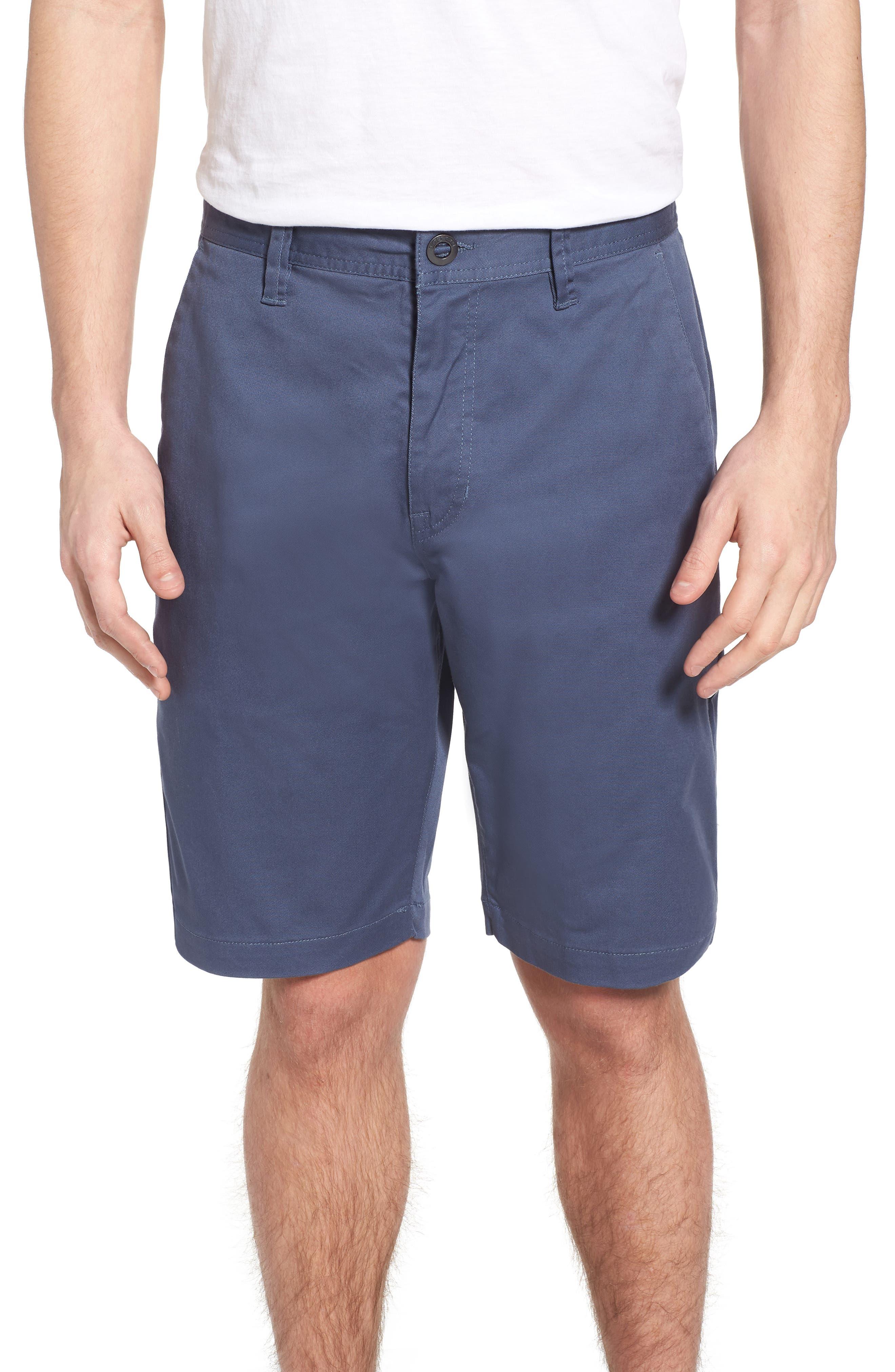 'Modern' Stretch Chino Shorts,                             Main thumbnail 2, color,