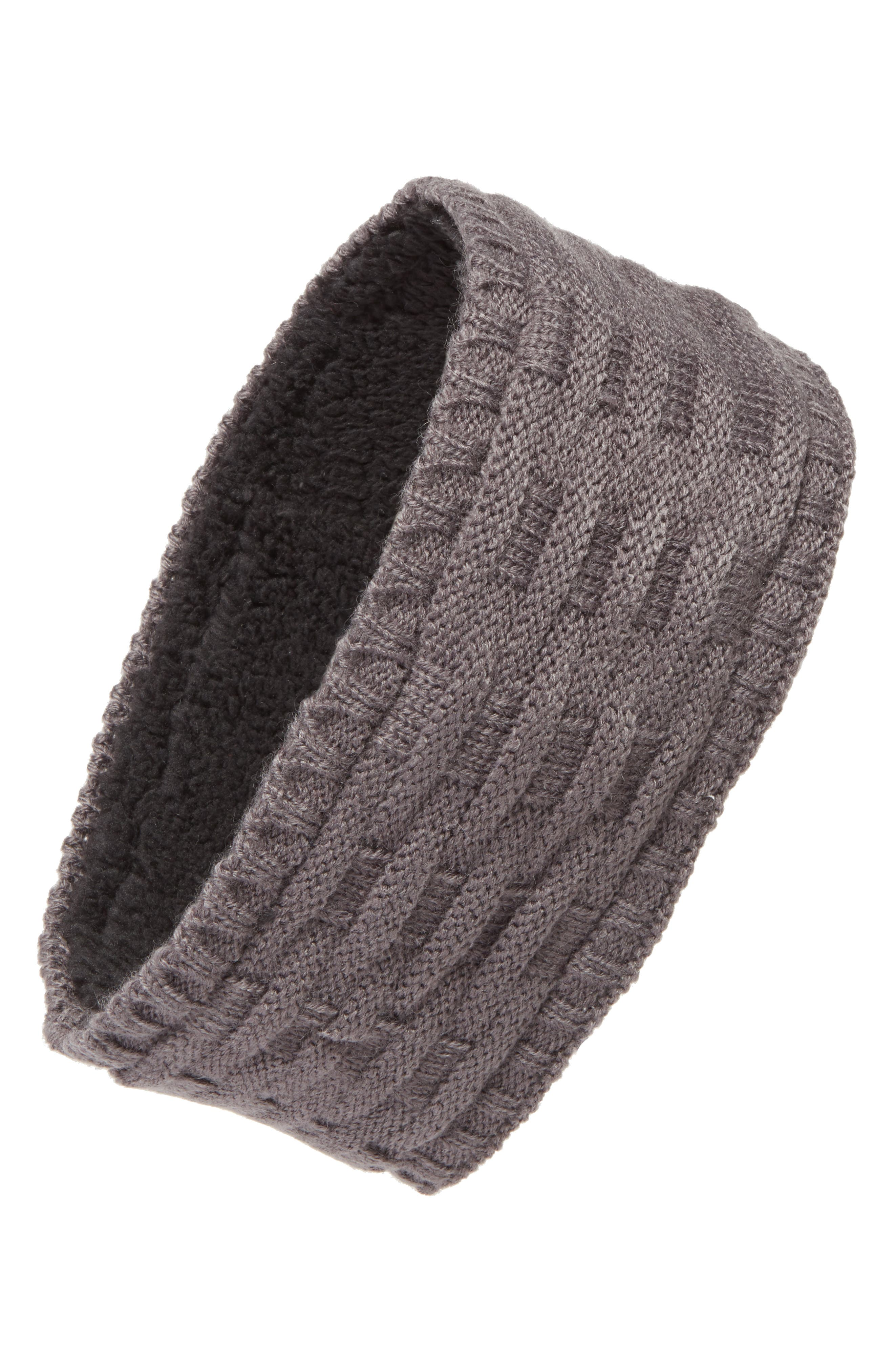 Cross Cable Knit Headband,                             Main thumbnail 2, color,