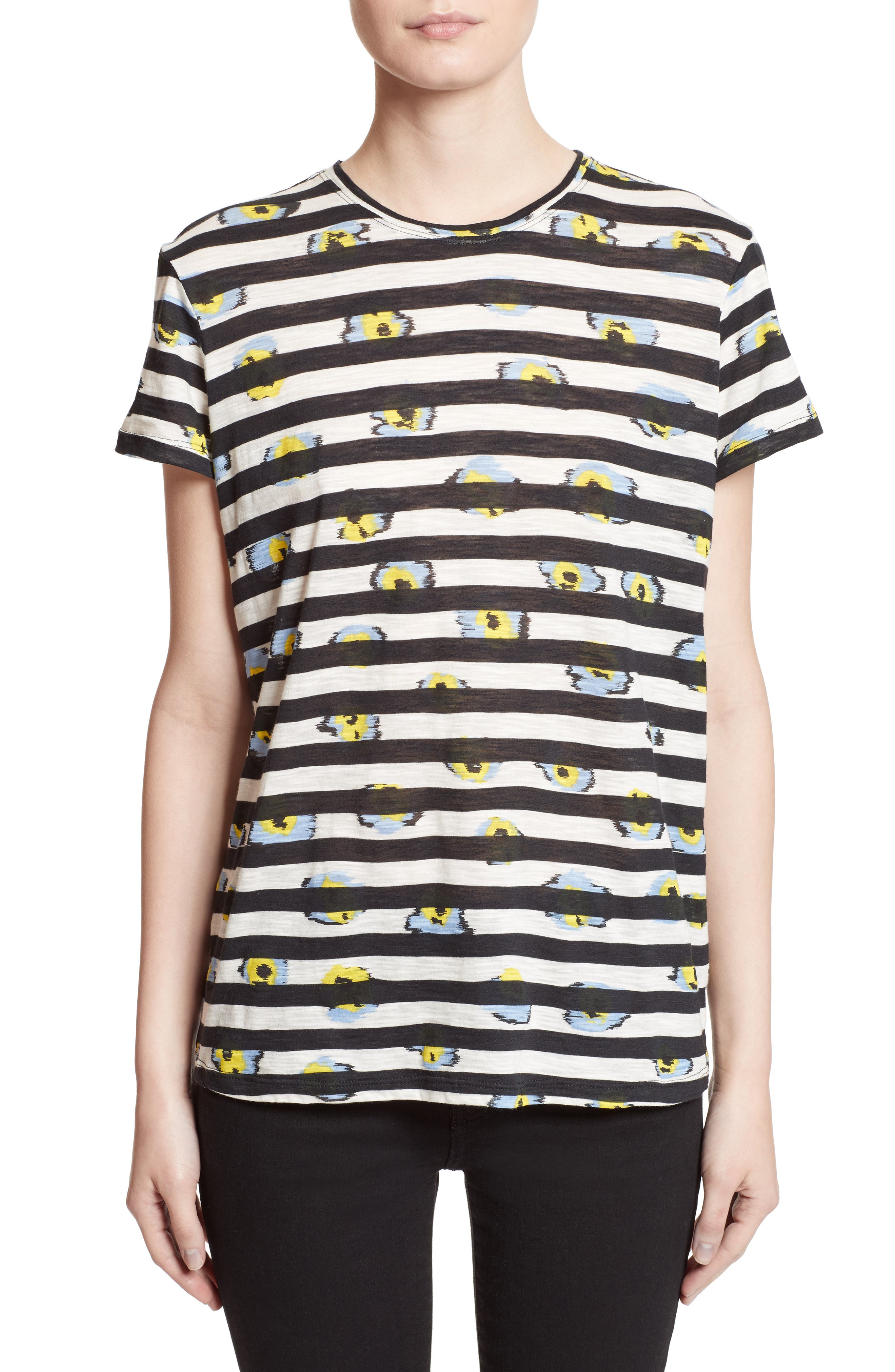Print Tissue Jersey Tee,                         Main,                         color,
