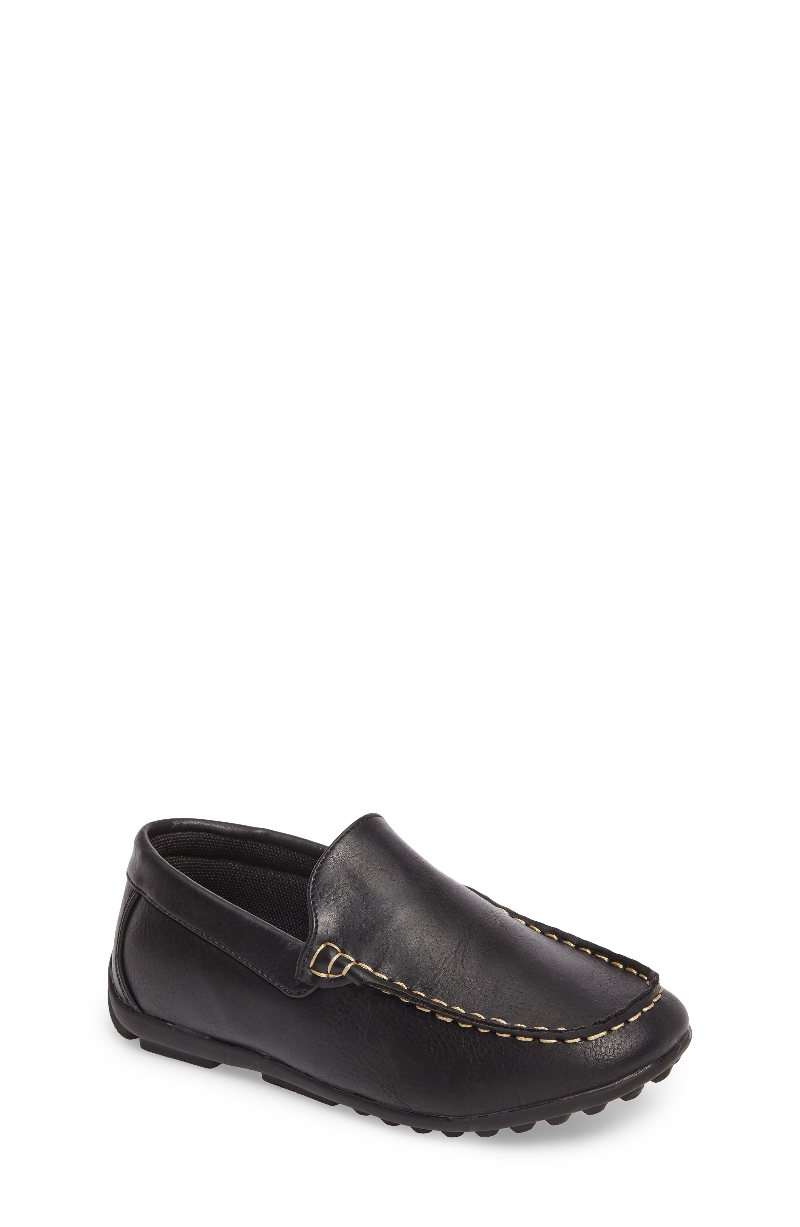 Compton Driving Loafer,                         Main,                         color, BLACK