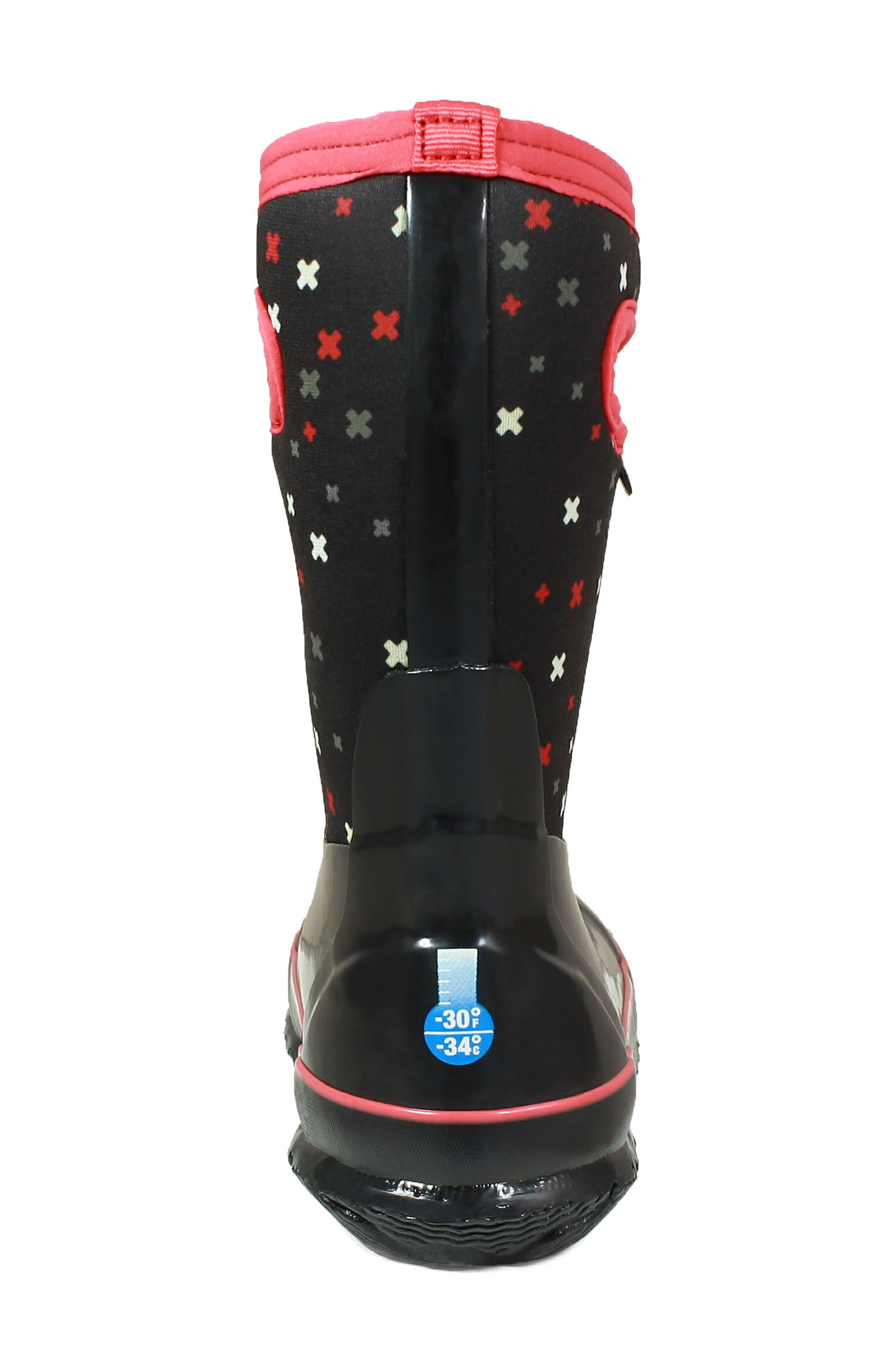 Classic Print Insulated Waterproof Boot,                             Alternate thumbnail 6, color,                             009